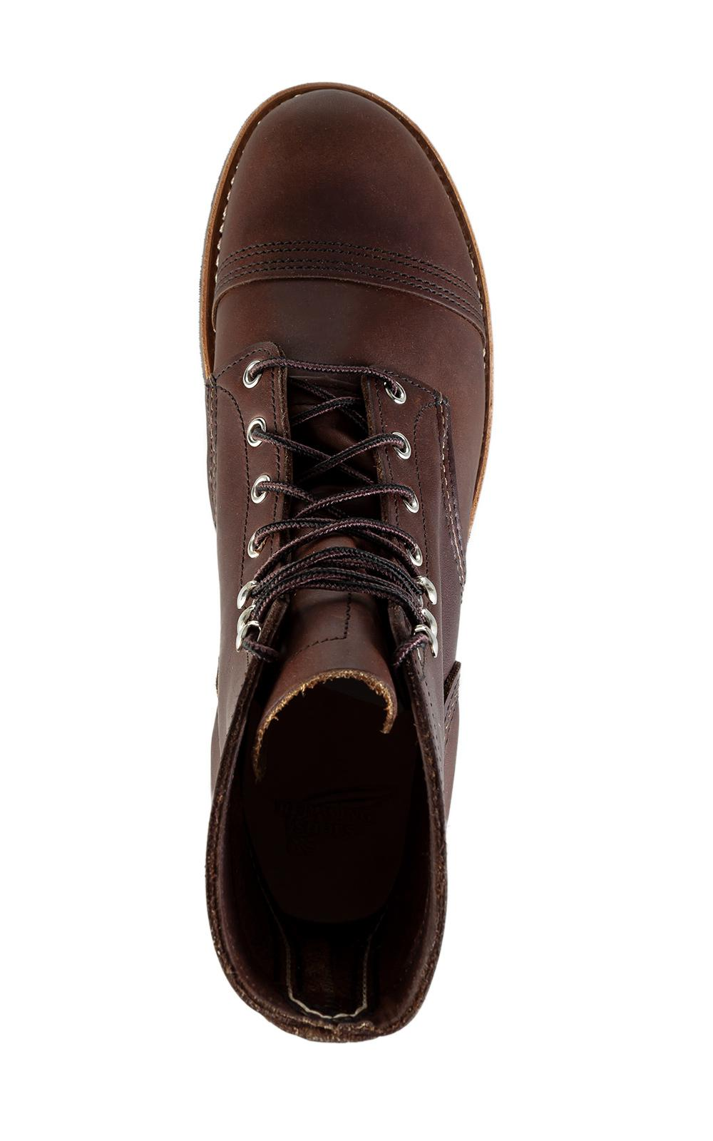 Red Wing Leather 8111d Iron Ranger Amber Harness New in Red for Men