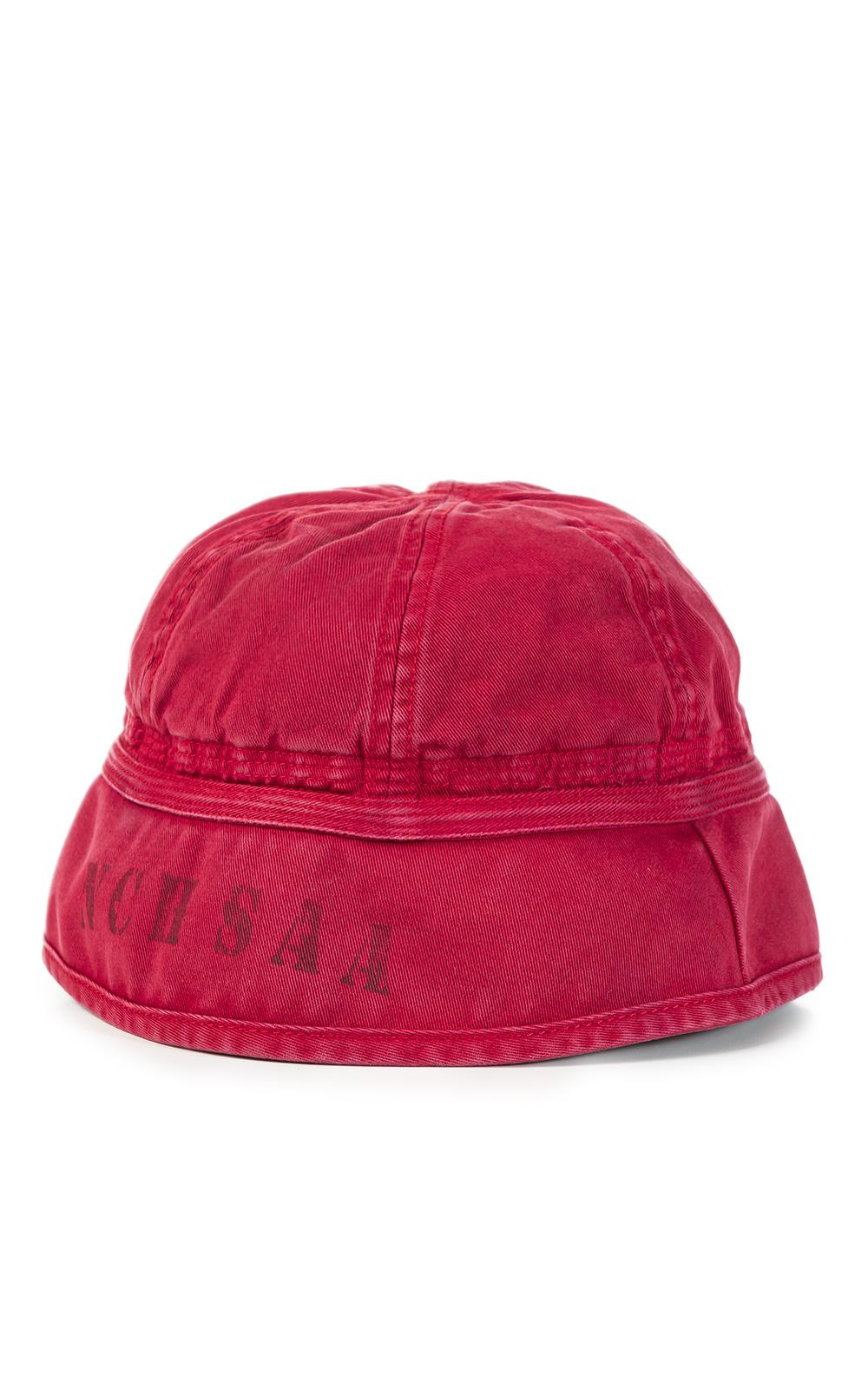 d14a1a8687be Lyst - Nigel Cabourn Lybro Drill Bucket Hat Red in Red for Men