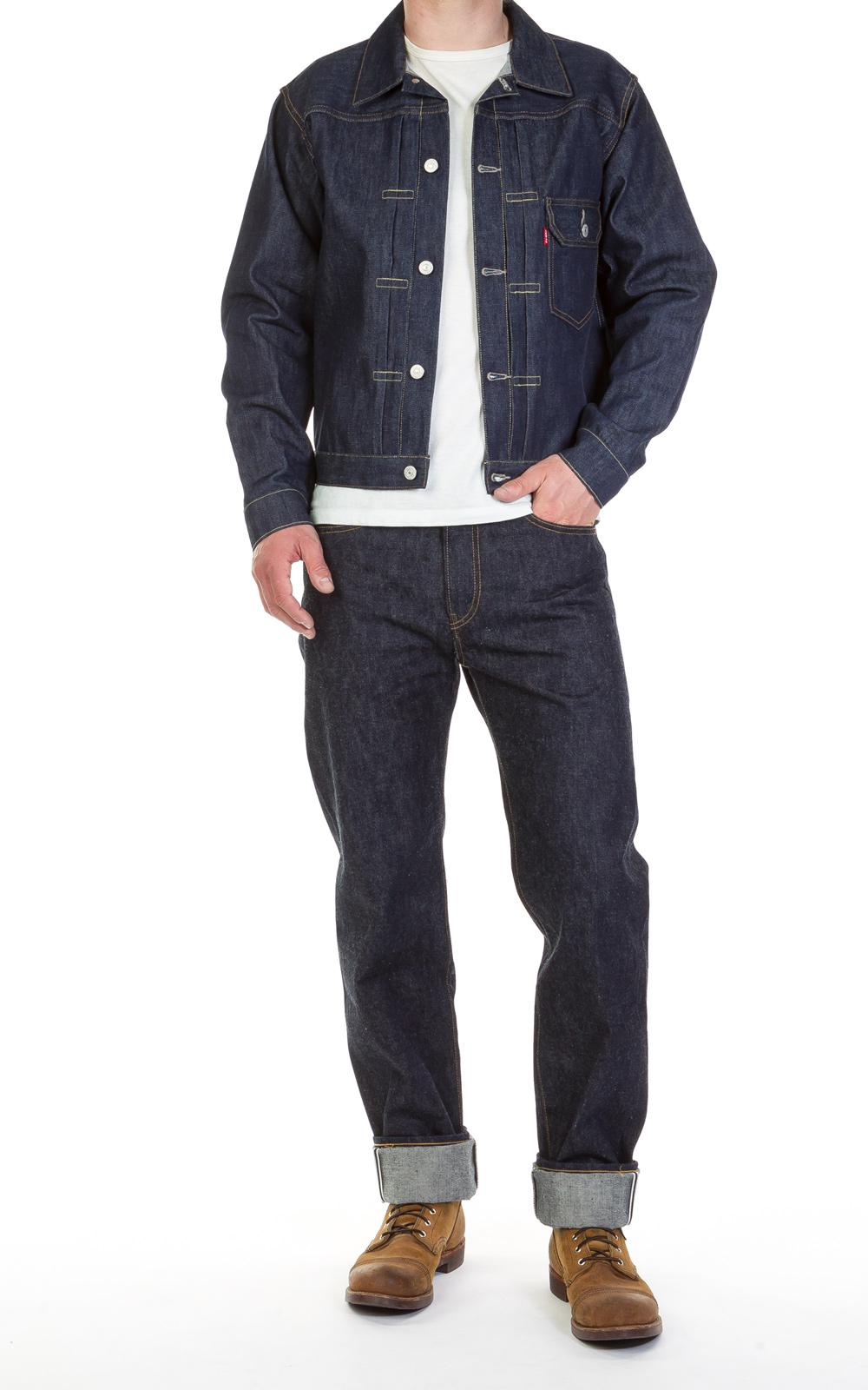 Levi's Cotton Levi ́s® Vintage Clothing 1936 Type I Jacket Rigid 12.5oz in Blue for Men