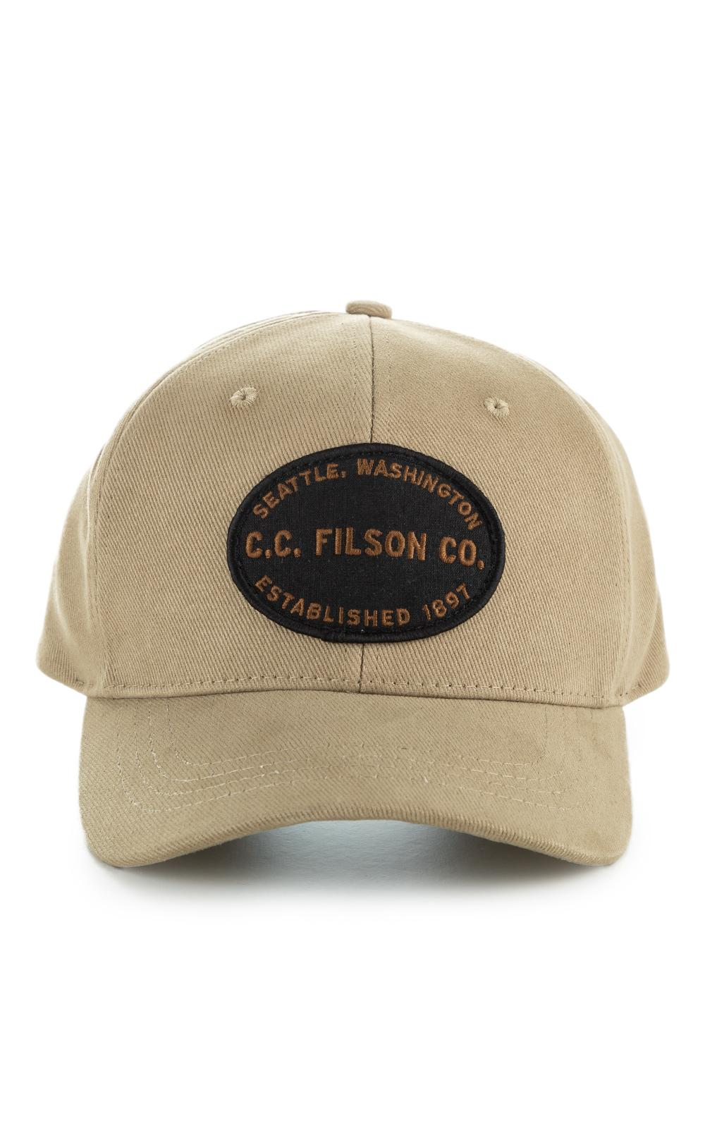 97bfe4a4051c0 Filson Twill Logger Cap Beige in Natural for Men - Lyst