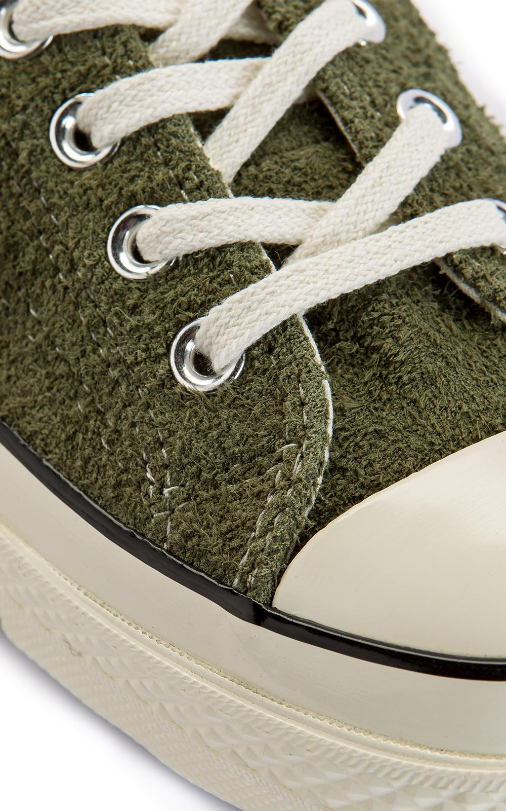 Converse Chuck Taylor All Star 70 Ox Suede Olive in Green for Men ...