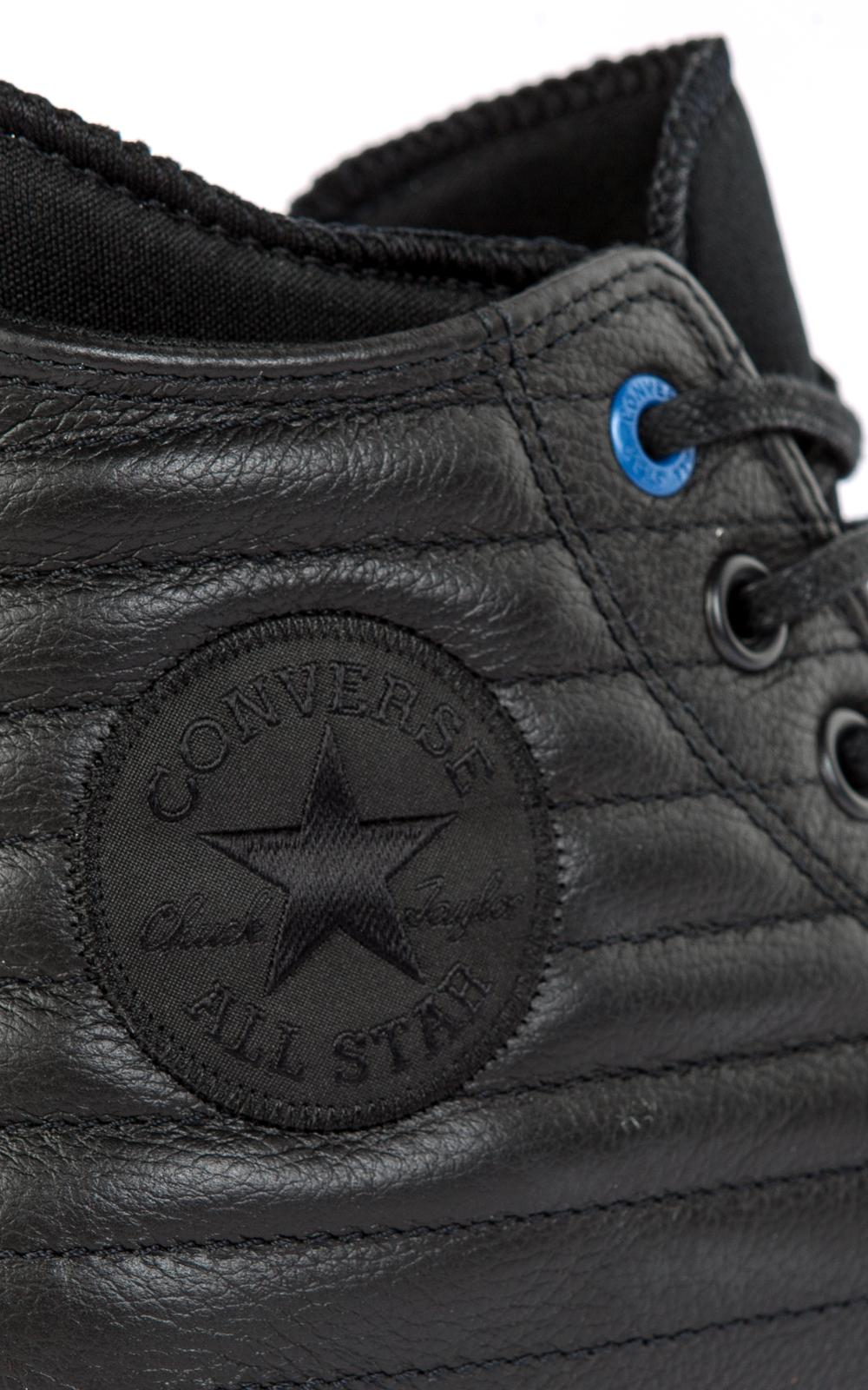 ff4793bf38d2ab Converse All Star Chuck Waterproof Boot Quilted Leather Black in ...