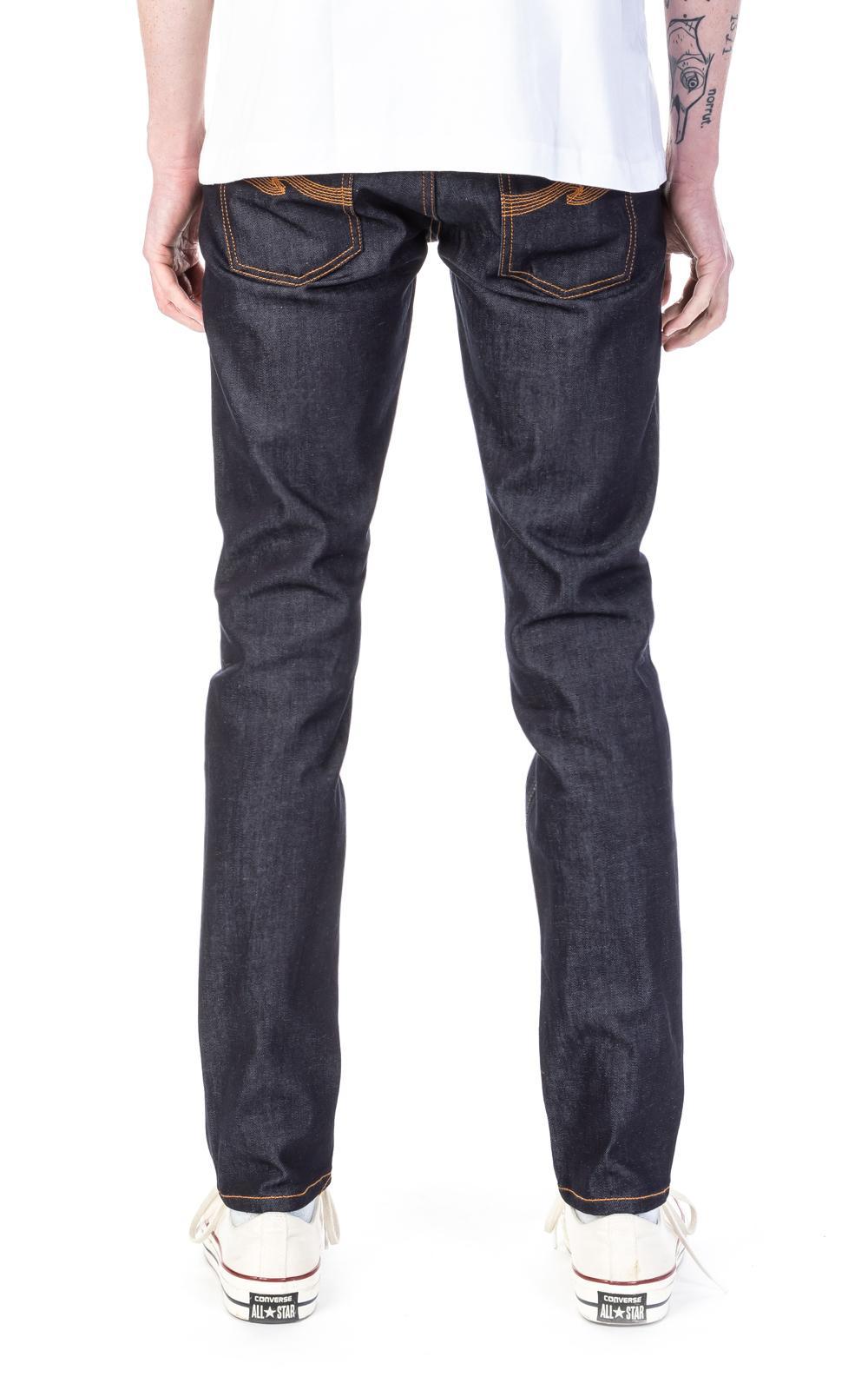 Nudie Jeans Denim Lean Dean Dry 16 Dips 11.5oz in Blue for Men