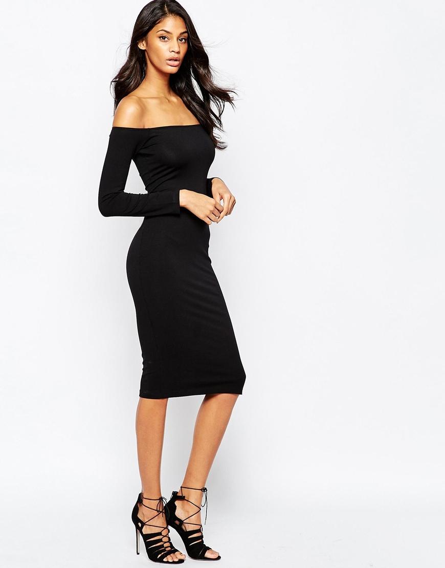 Turmec » long sleeve midi dress asos