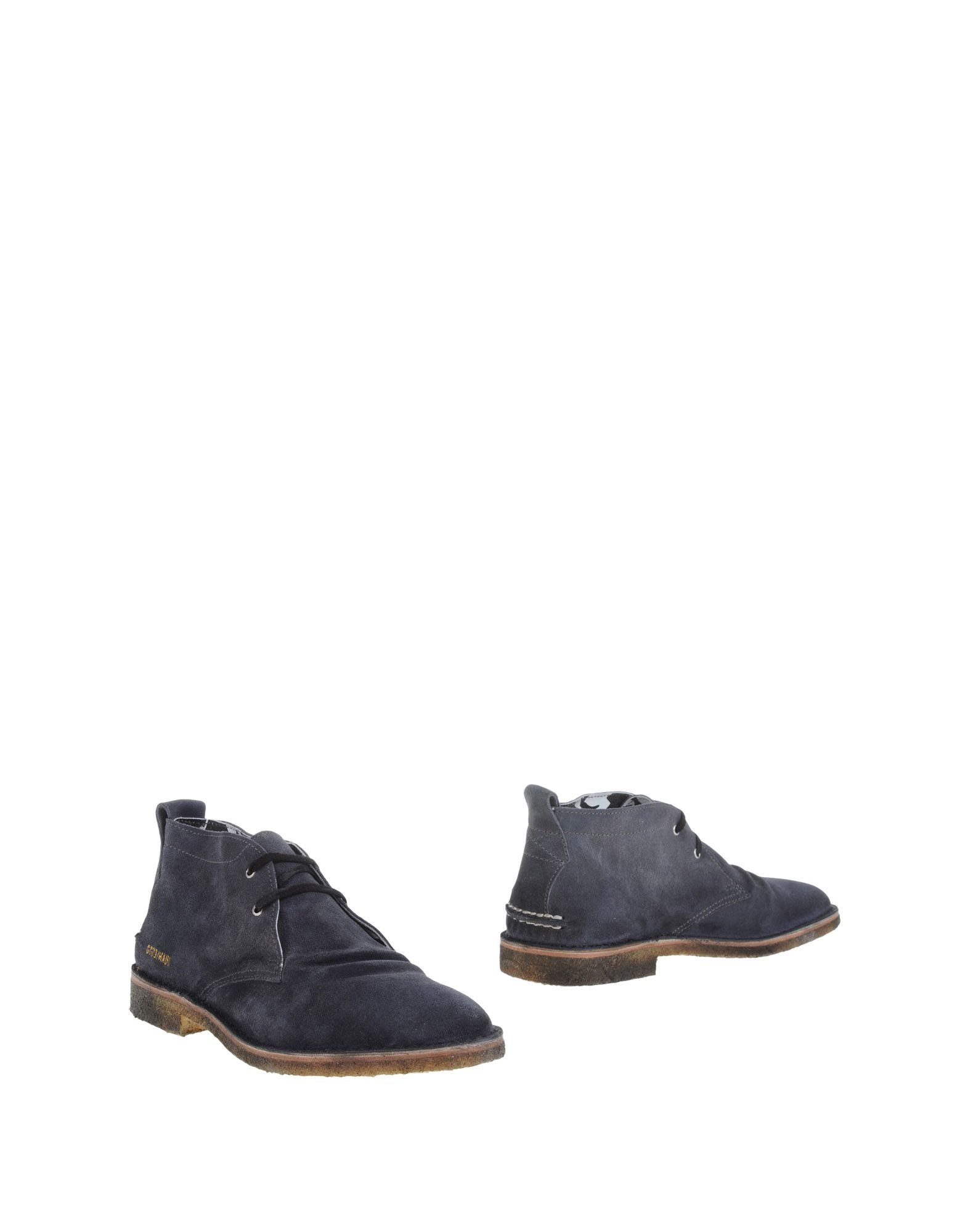 golden goose deluxe brand ankle boots in gray for lyst