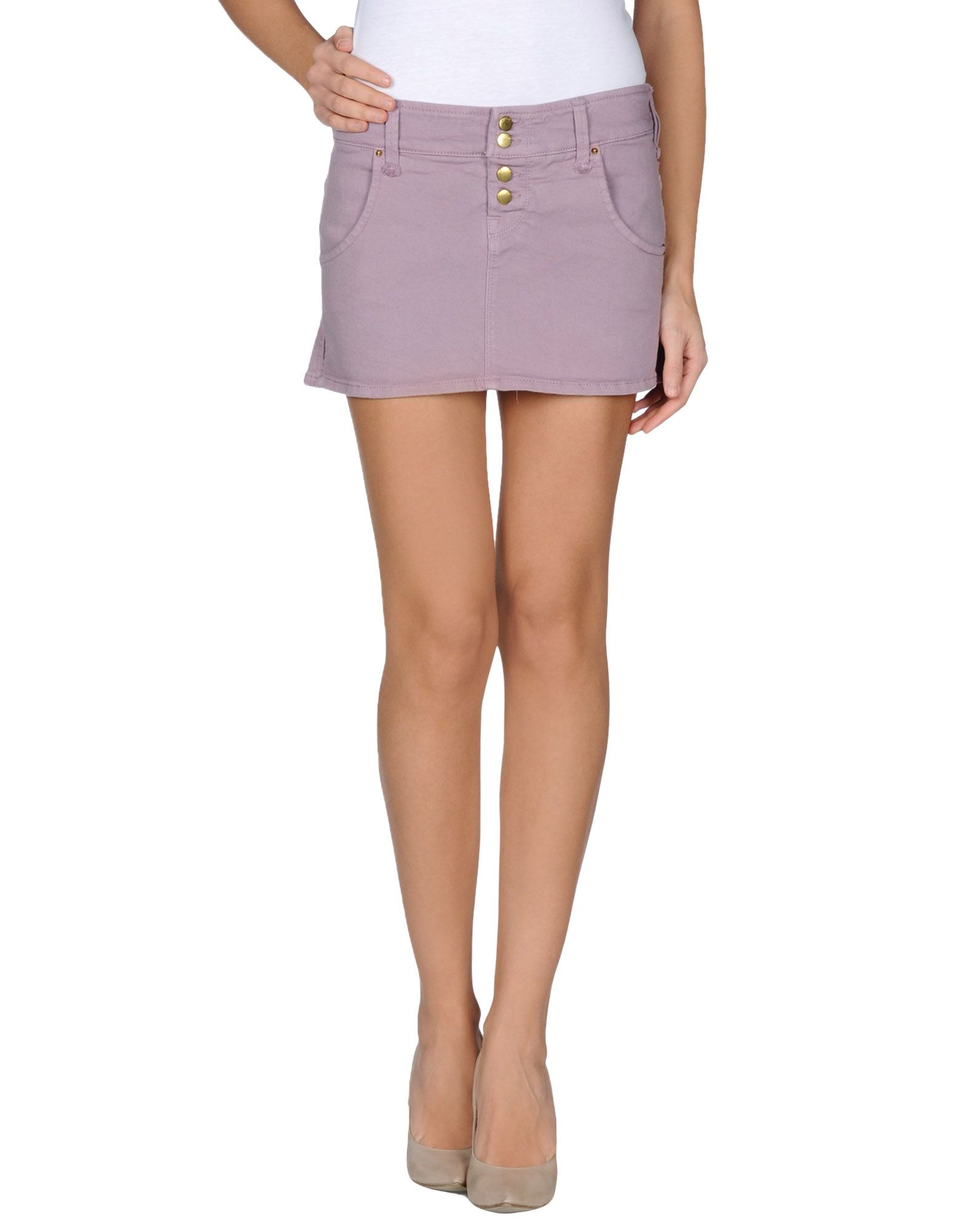 cycle denim skirt in purple lilac save 70 lyst