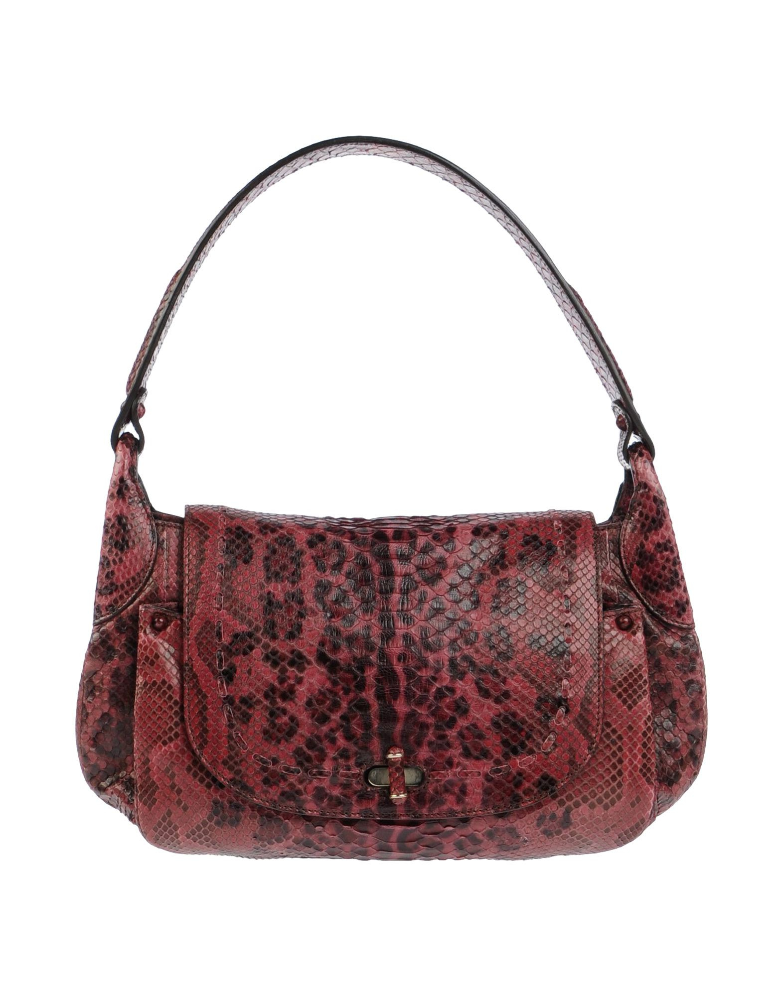 Lyst Zagliani Handbag In Purple