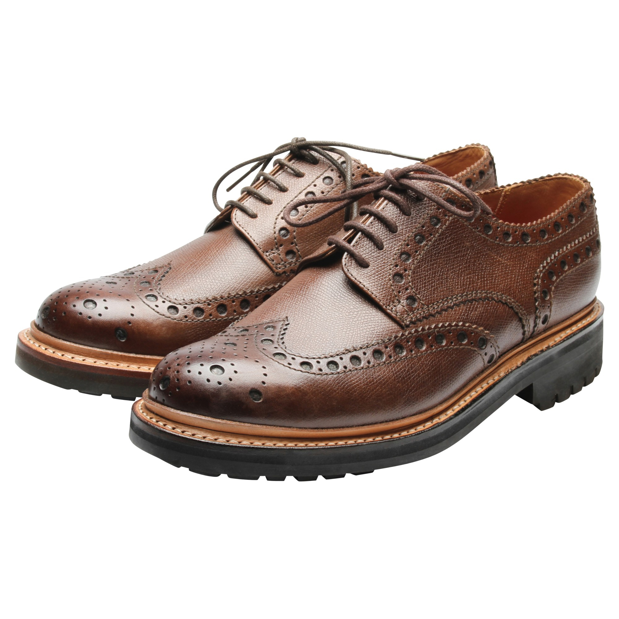 Brogue Slip On Shoes