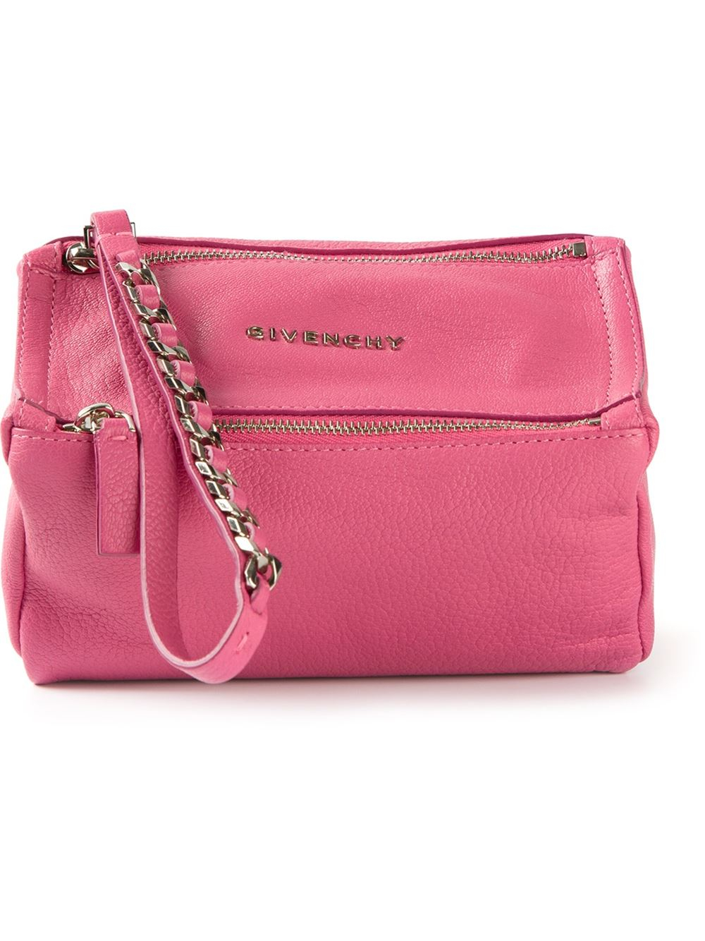 6e6f3d3074f1 Givenchy Pandora Clutch in Pink - Lyst