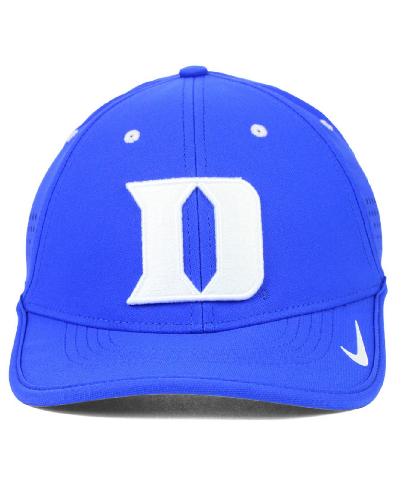 new product 2430e 504d6 ... official lyst nike duke blue devils dri fit coaches cap in blue for men  40879 a46cf