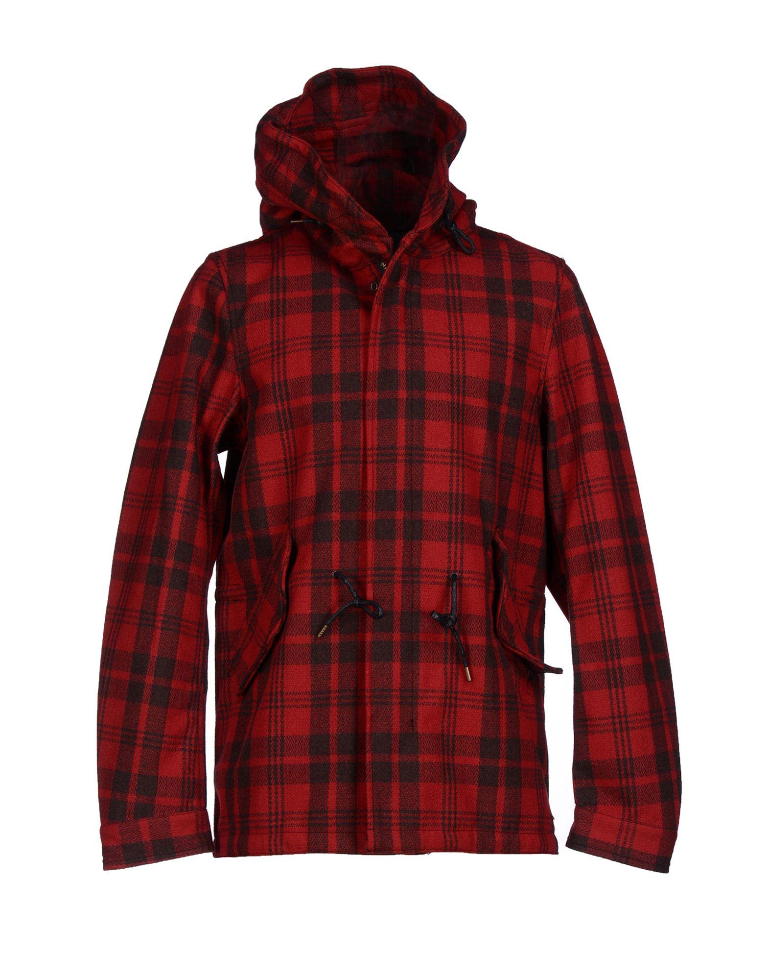 lyst scotch soda jacket in red for men. Black Bedroom Furniture Sets. Home Design Ideas