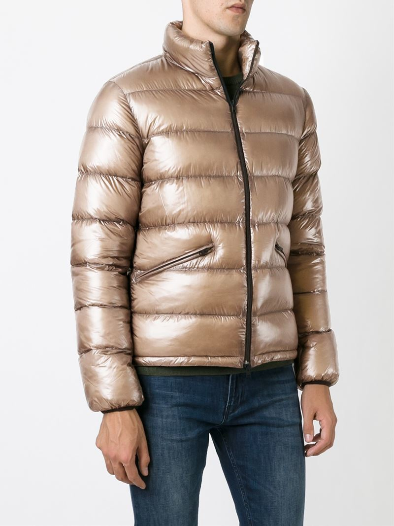 Herno Padded Jacket in Brown for Men | Lyst