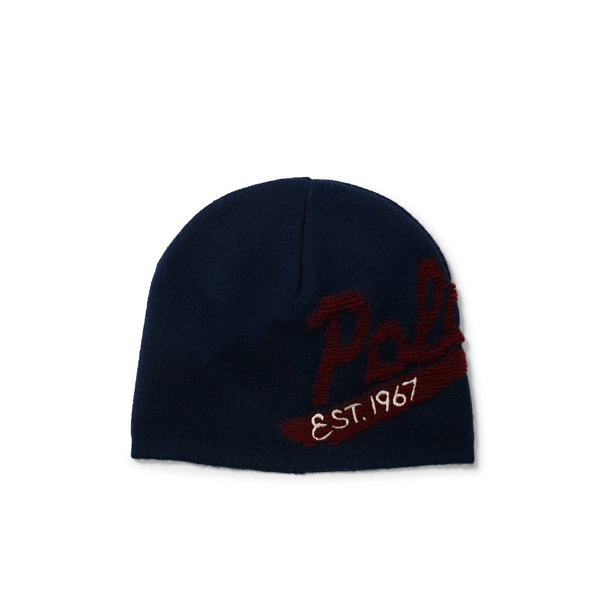 polo ralph lauren polo wool cap in blue for men navy wine. Black Bedroom Furniture Sets. Home Design Ideas