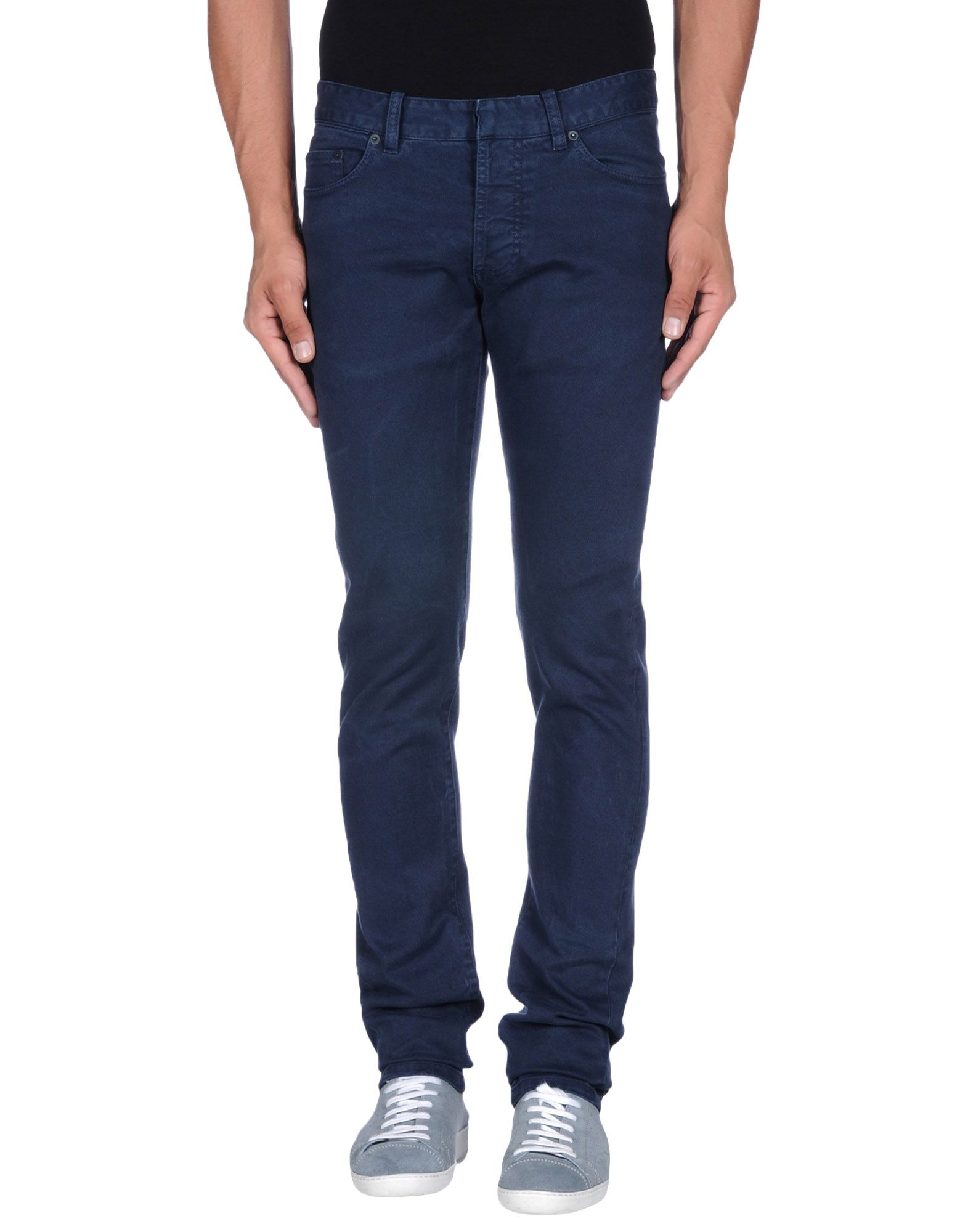 Balenciaga Denim Trousers in Dark Blue (Blue) for Men