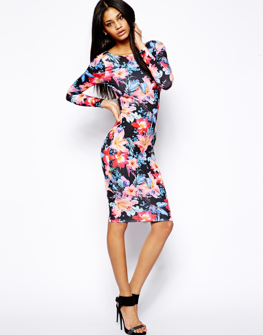 Woollahra lipsy bodycon midi dress with sun protection