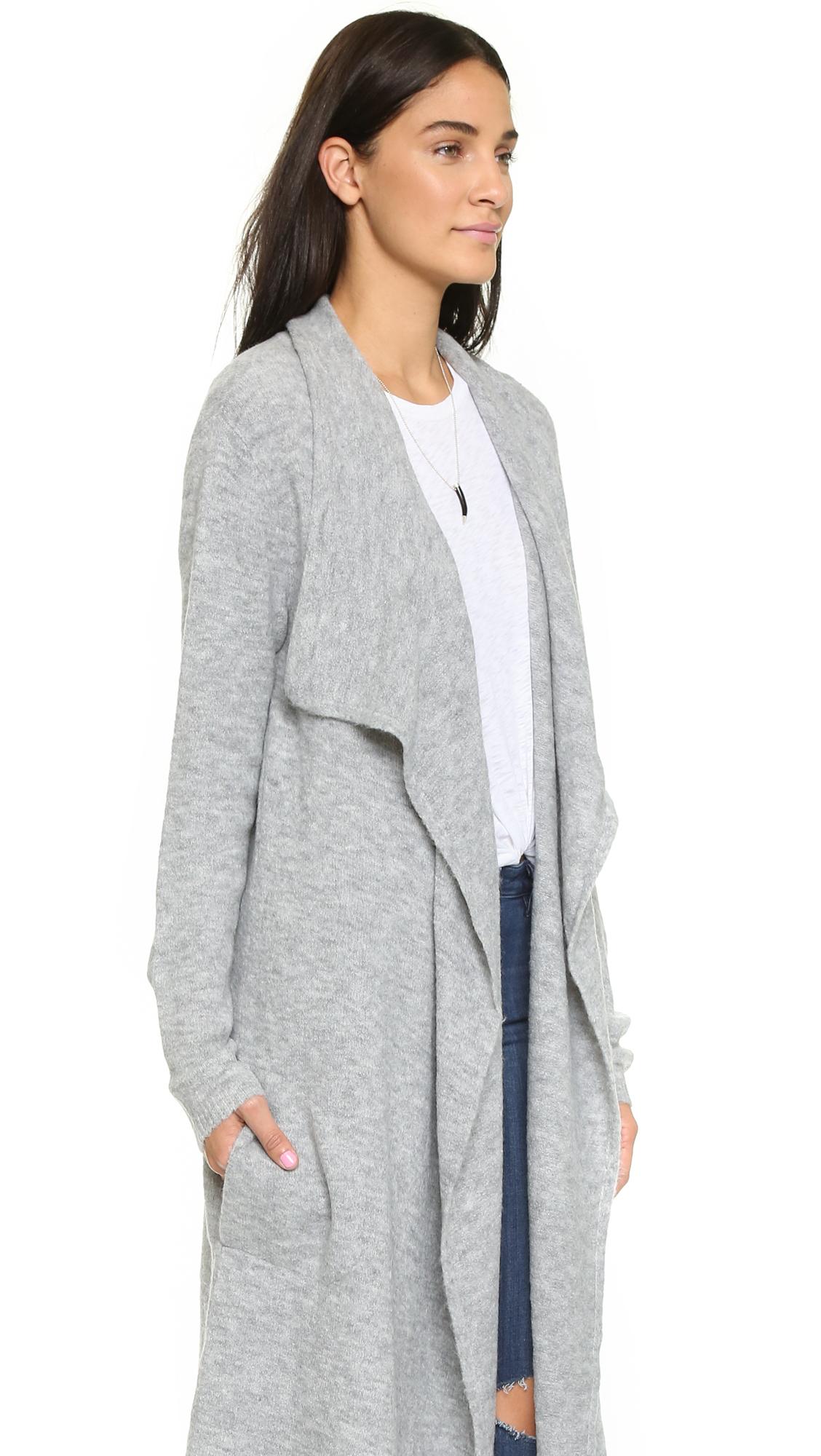 Bb dakota Tabbetha Cardigan - Grey in Gray | Lyst