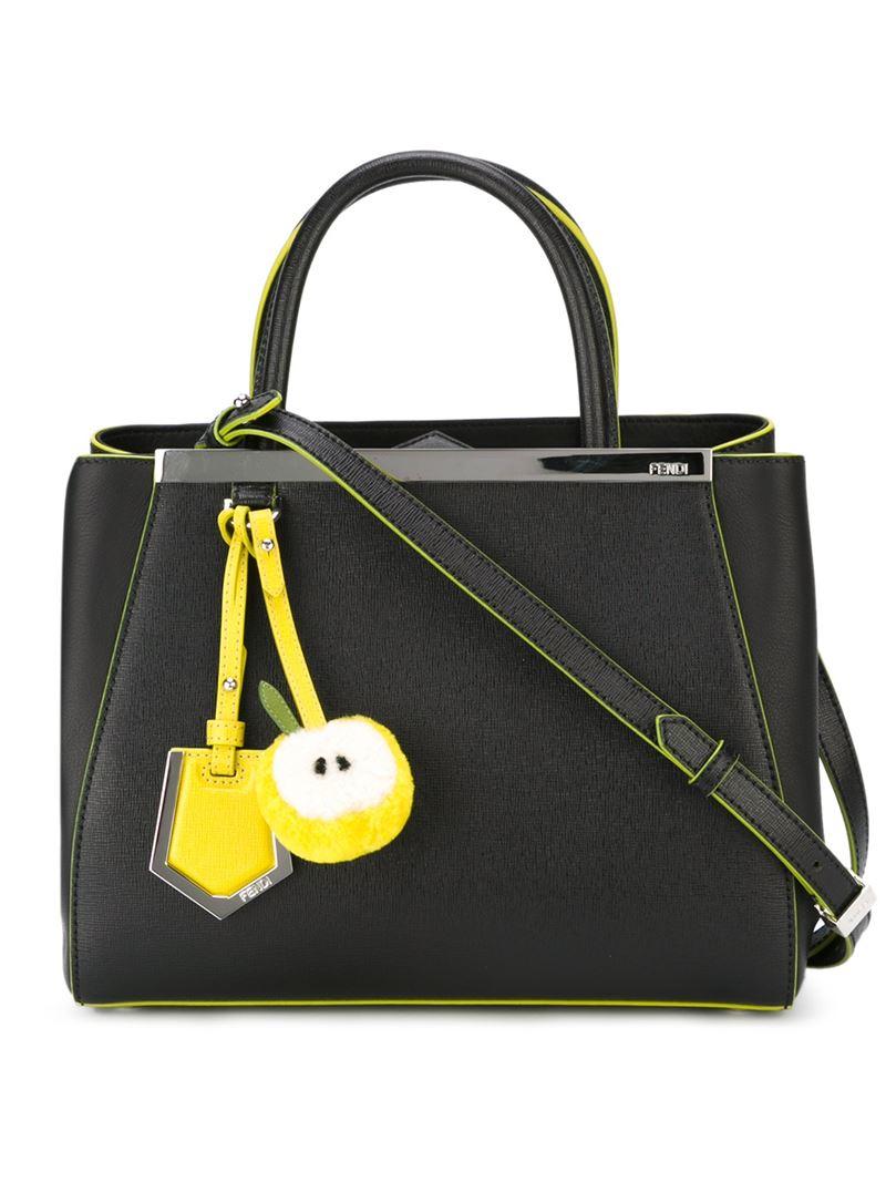 Сумка Fendi Peekaboo Nappa Large bag black