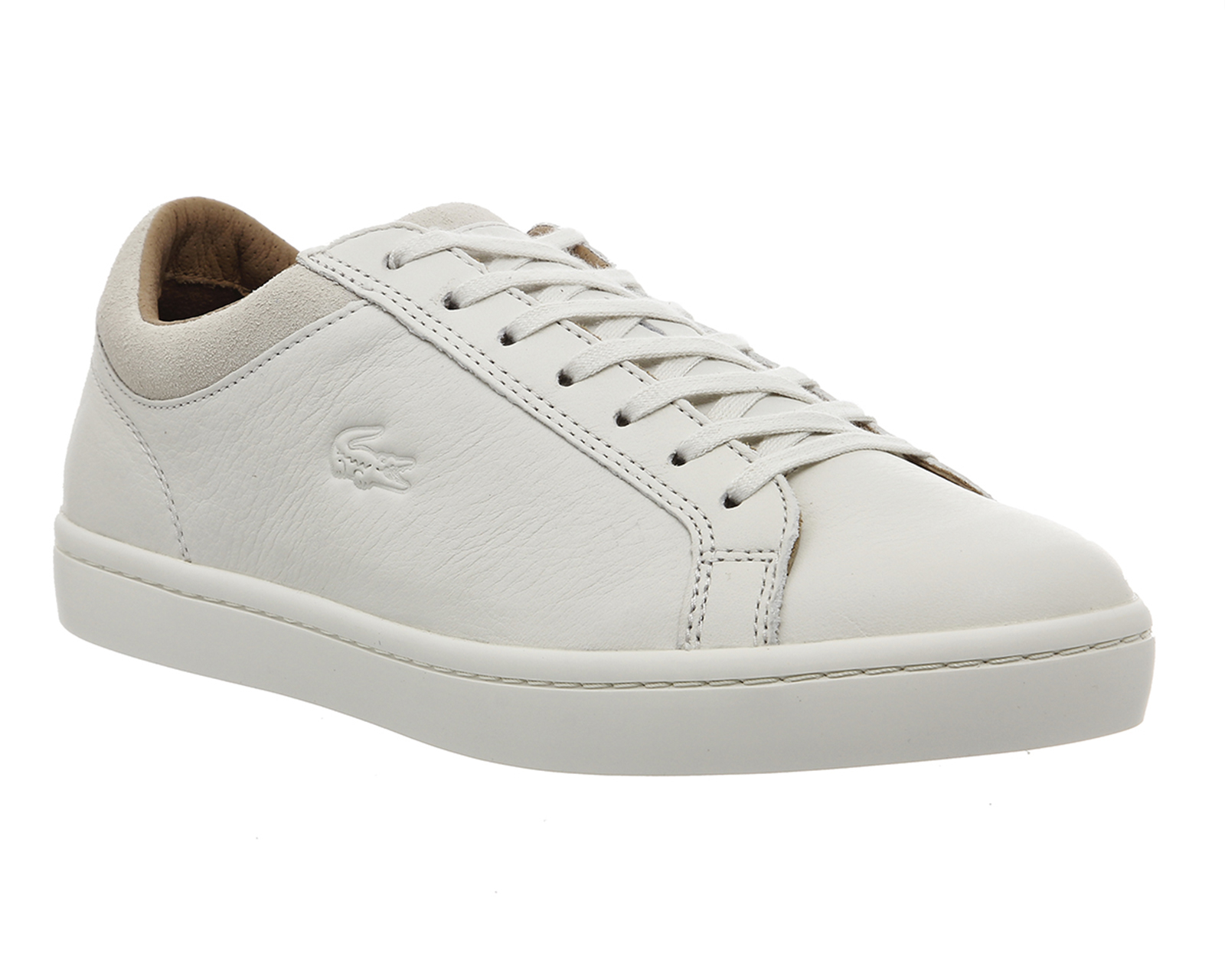 Lacoste Straightset White Leather 89608