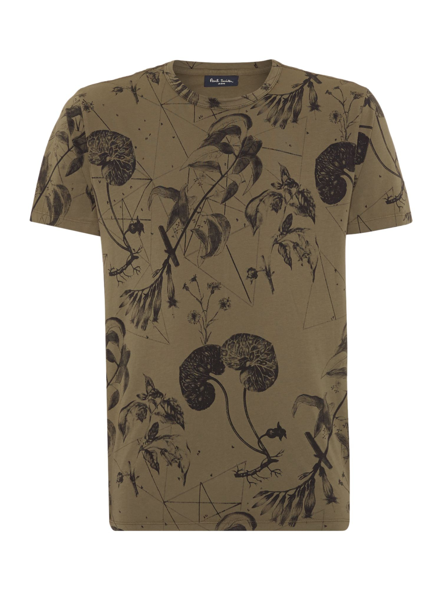 Lyst paul smith paul smith all over print t shirt in for All over printing t shirts