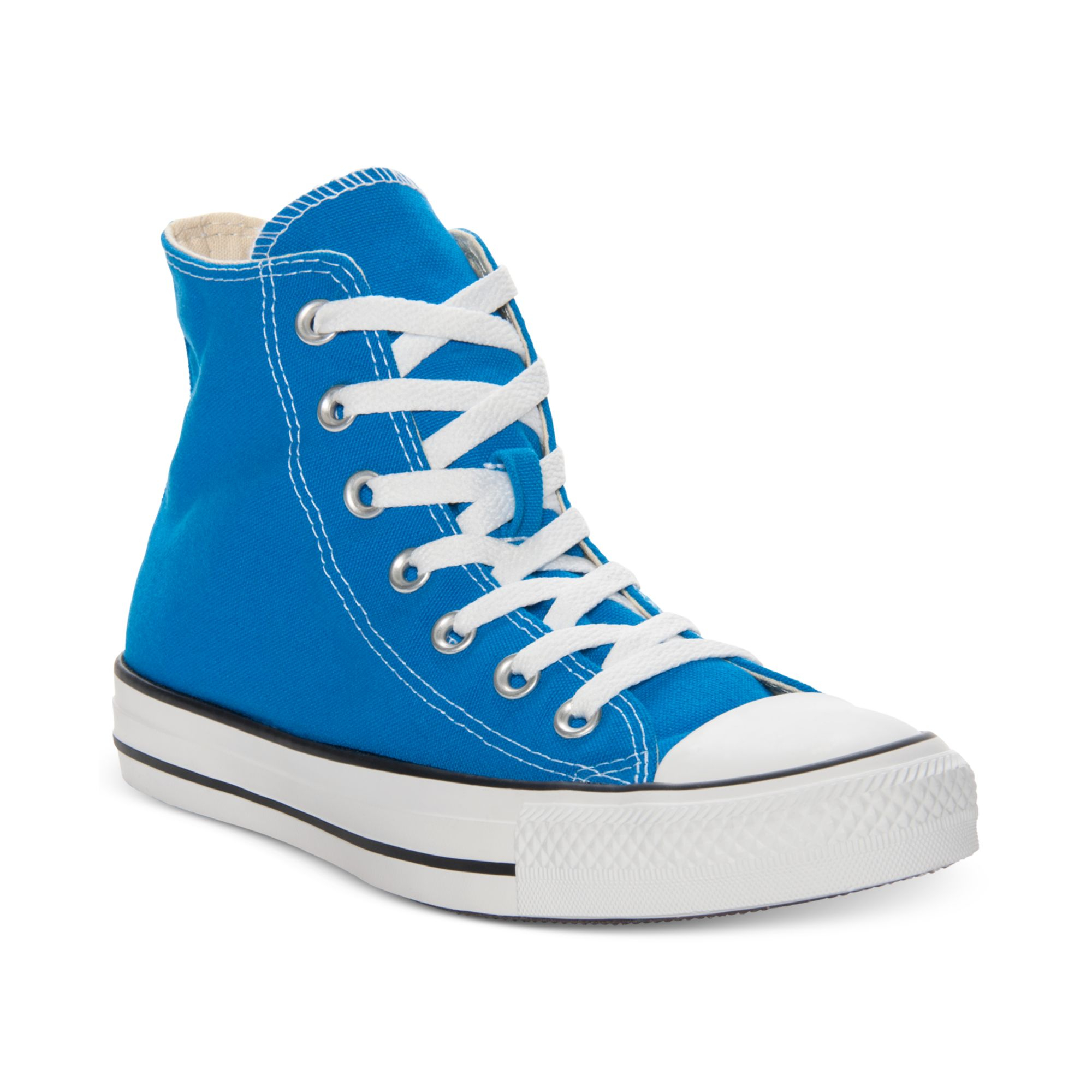 74ff78a1d43270 Lyst - Converse Chuck Taylor Hi Top Casual Sneakers in Blue for Men