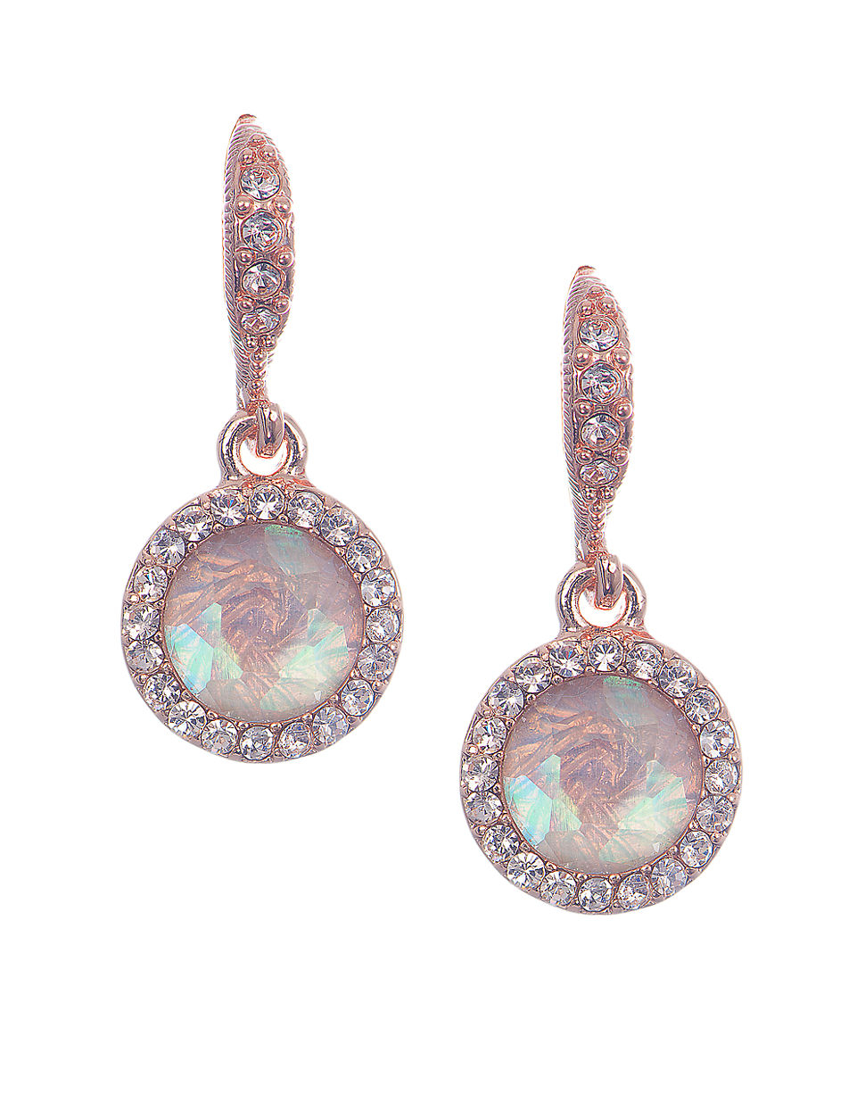 givenchy drop earrings in pink lyst