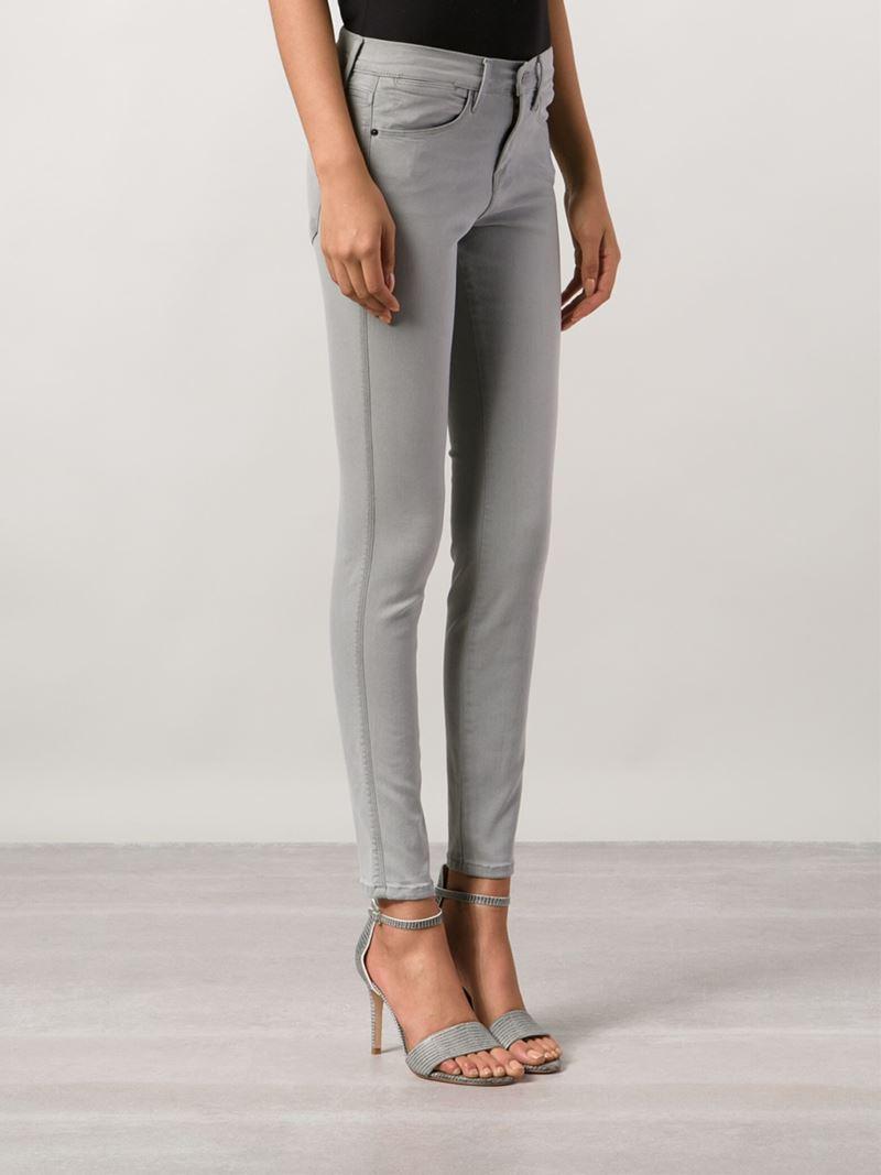 FRAME 'le High Skinny' Jeans in Grey (Grey)