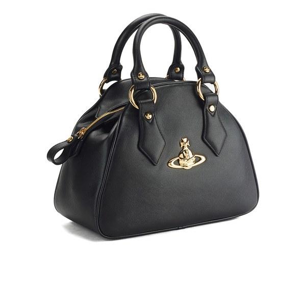 Vivienne Westwood Women s Divina Curved Tote Bag in Black - Lyst 7382b91498463