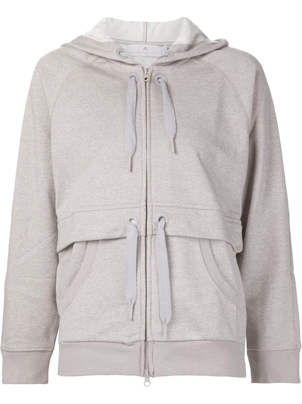 cbf41e9e23aa Lyst - adidas By Stella McCartney Essentials Hoodie in Gray