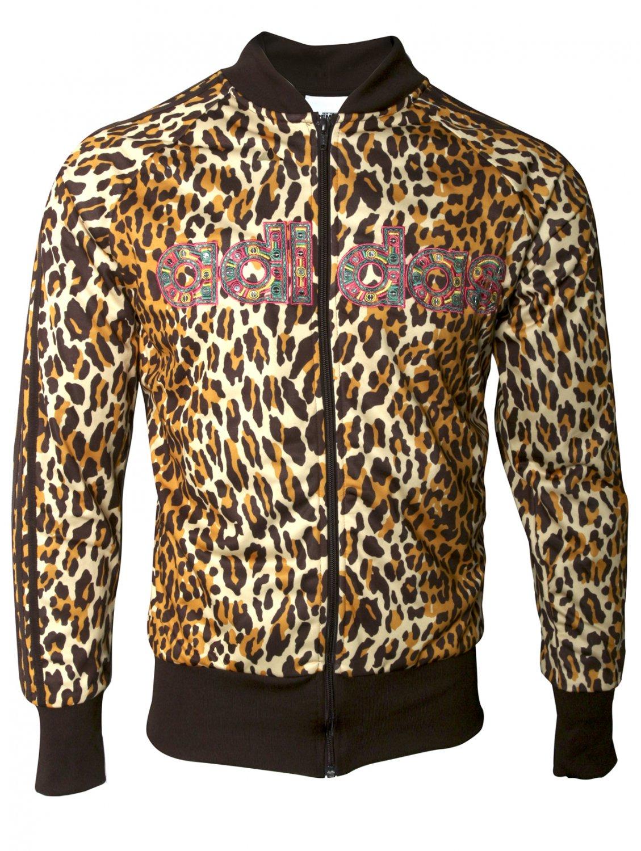 Jeremy Scott Cotton X Adidas Leopard Print Sequin