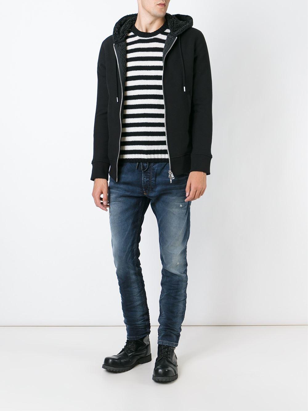 Diesel S Mifun Jacket In Black For Men Lyst