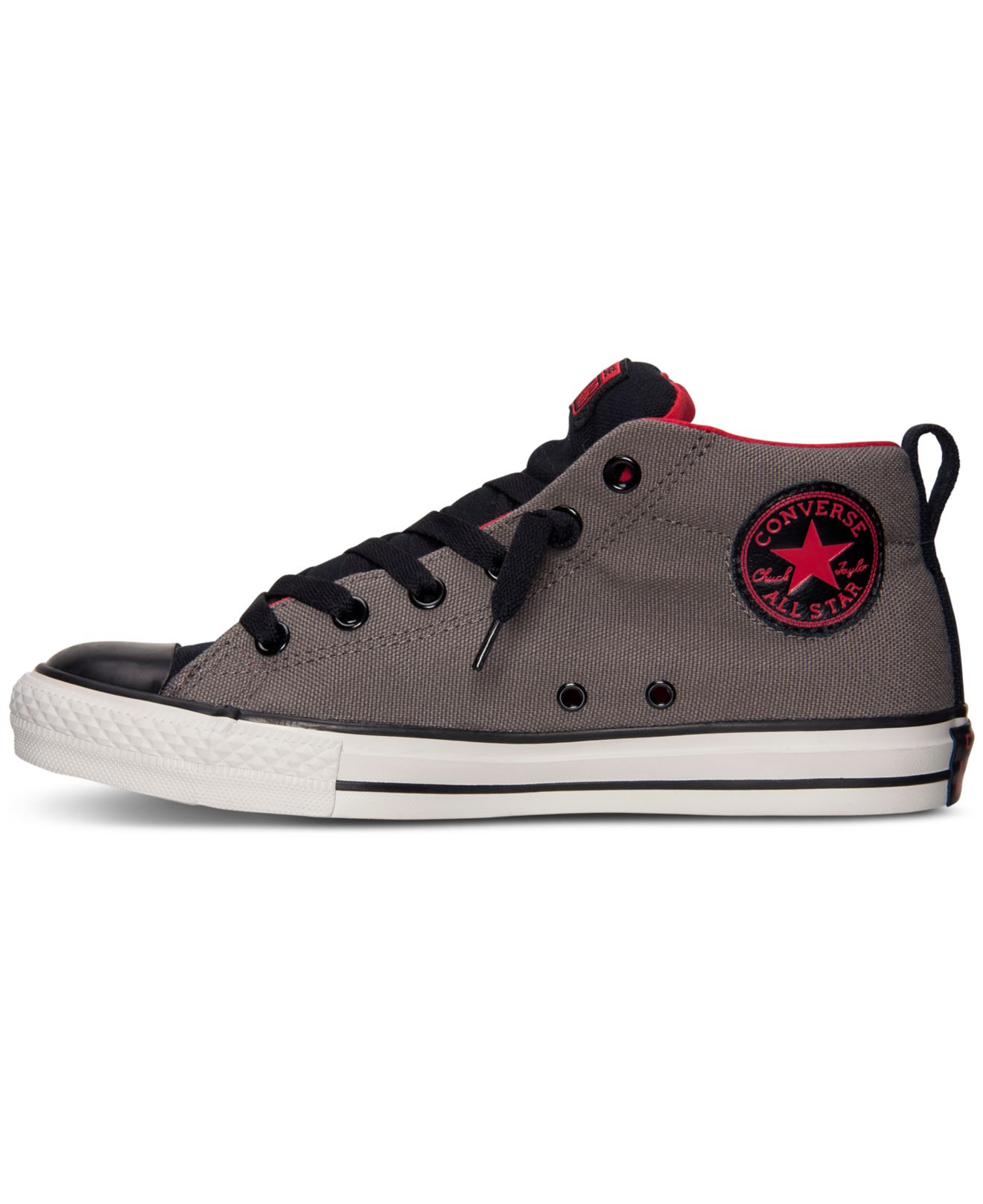 b4e1d8666db5 Lyst - Converse Men S Chuck Taylor Street Mid Casual Sneakers From ...
