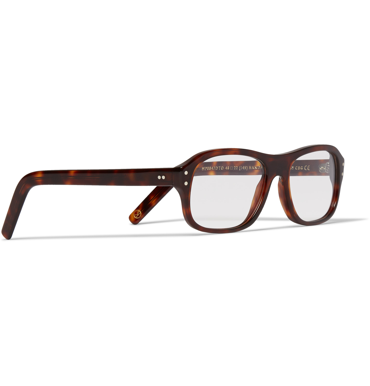 Kingsman Glasses Frame : Kingsman + Cutler And Gross Square-frame Tortoiseshell ...