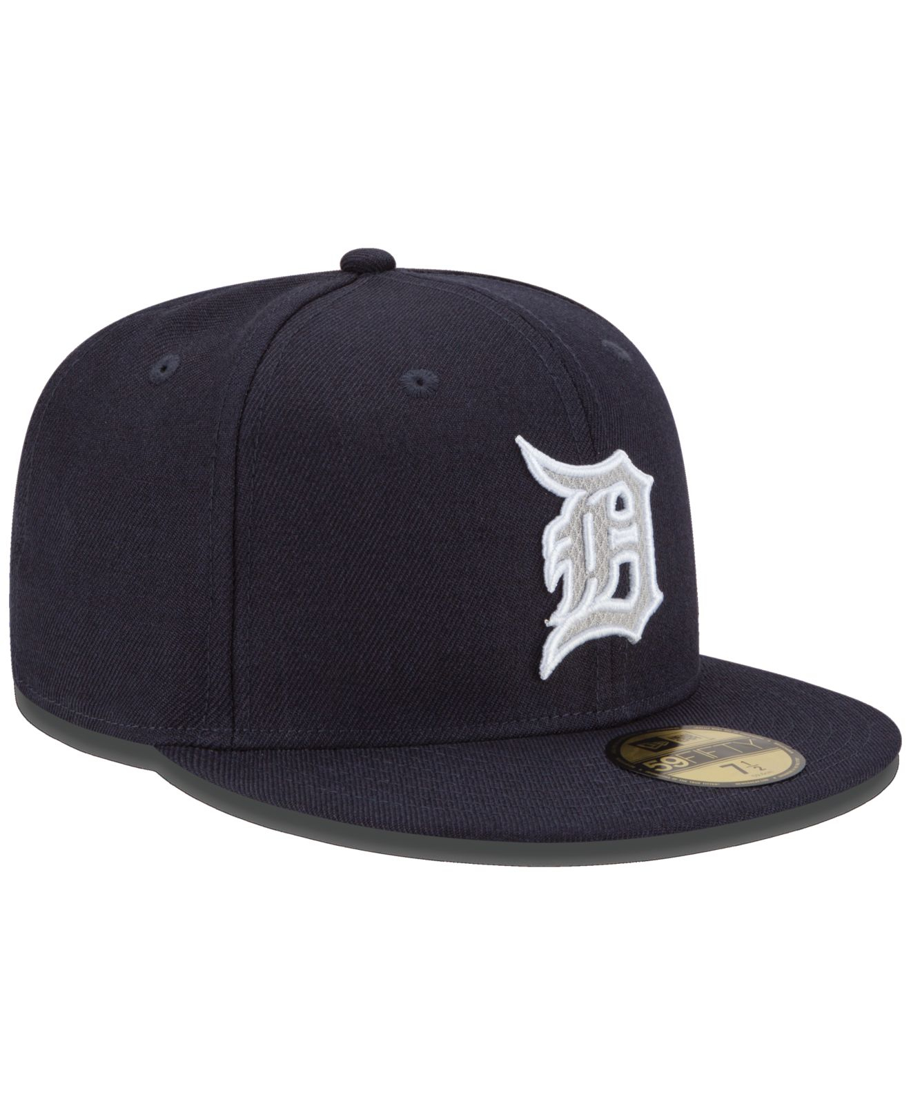 new style 389b4 4ff54 Lyst - KTZ Detroit Tigers Logo Lush 59fifty Cap in Blue for Men
