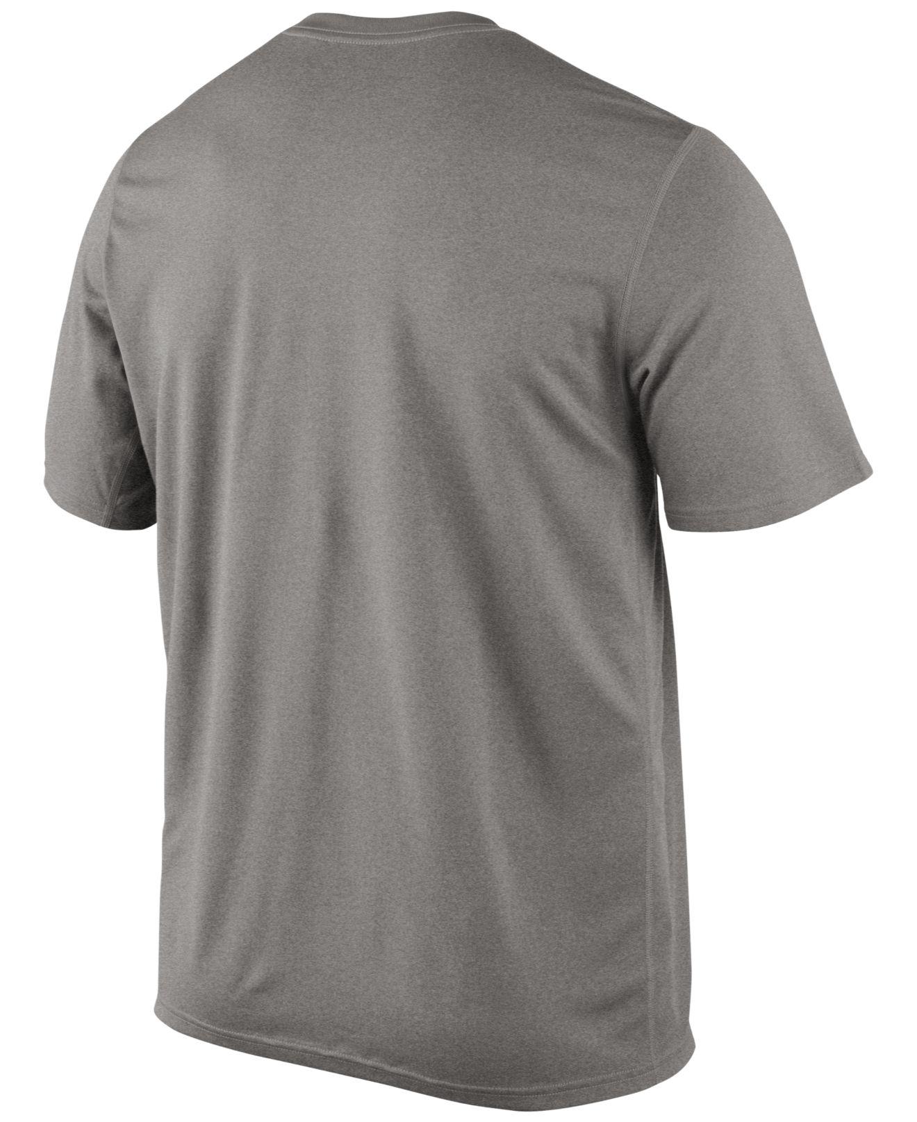 nike men 39 s iowa hawkeyes dri fit logo legend t shirt in