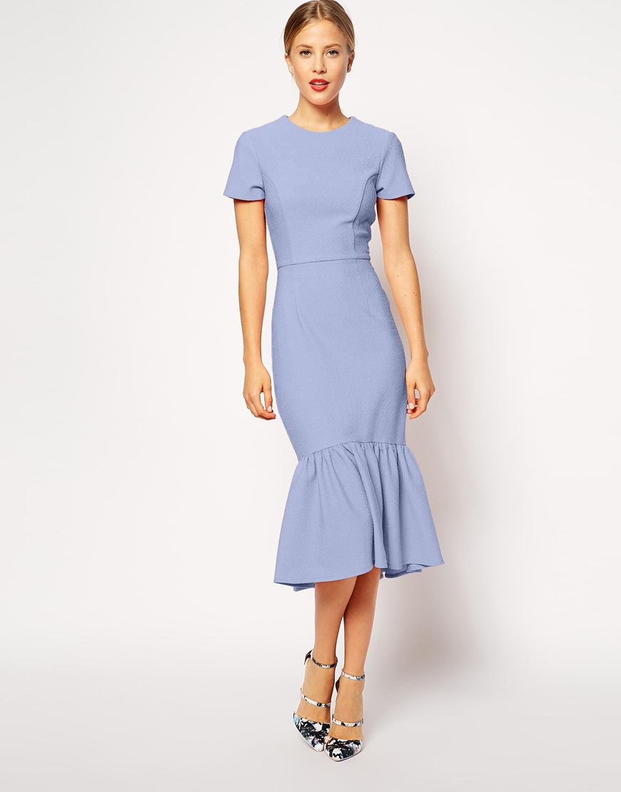 Find Blue peplum dresses at ShopStyle. Shop the latest collection of Blue peplum dresses from the most popular stores - all in one place.