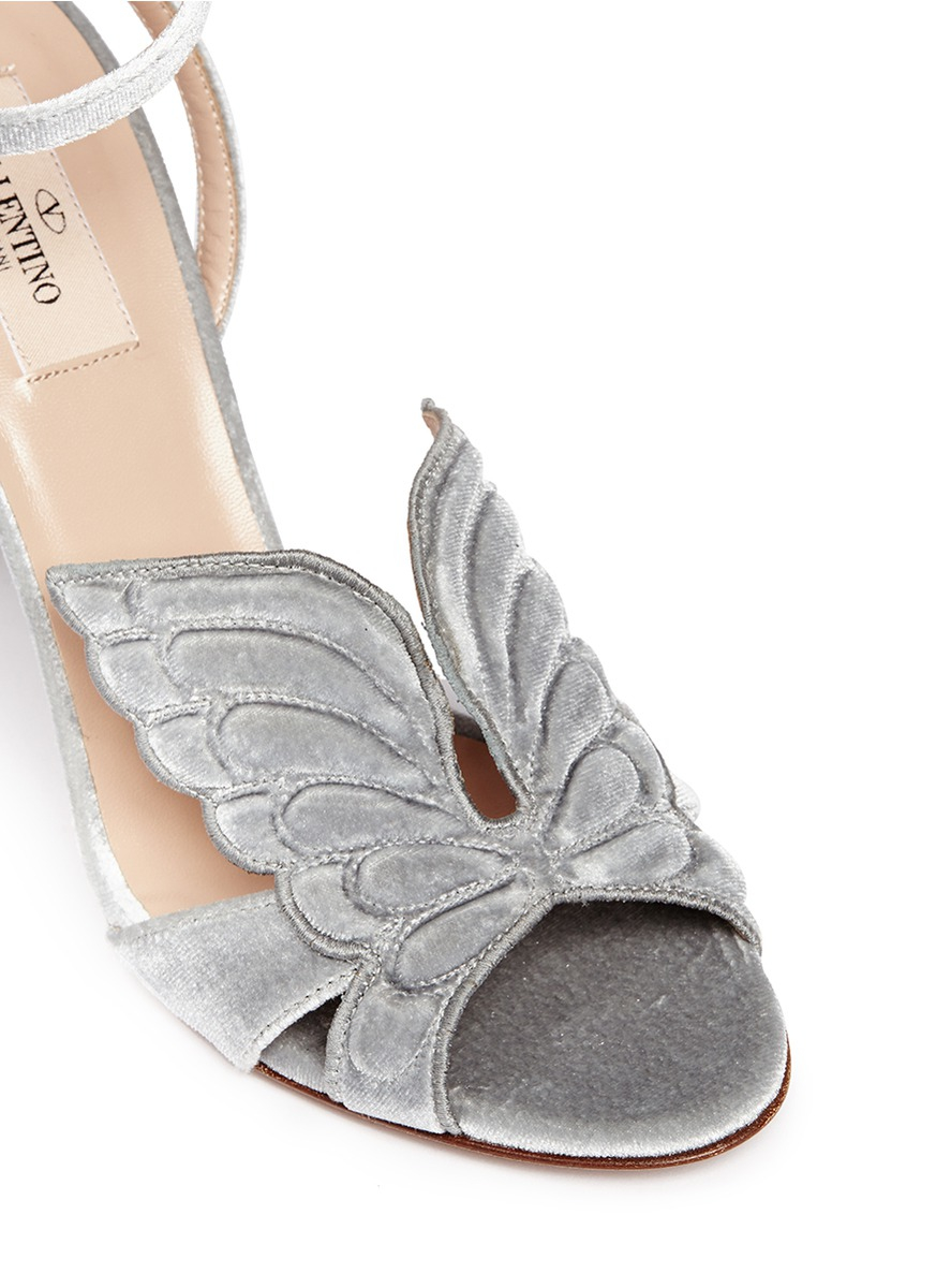 be5951b5988d Silver Valentino Shoes