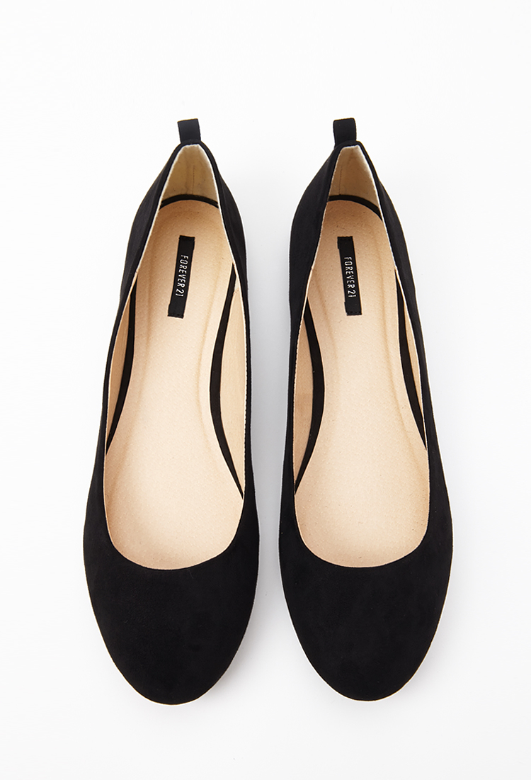 Forever 21 Round Toe Ballet Flats in