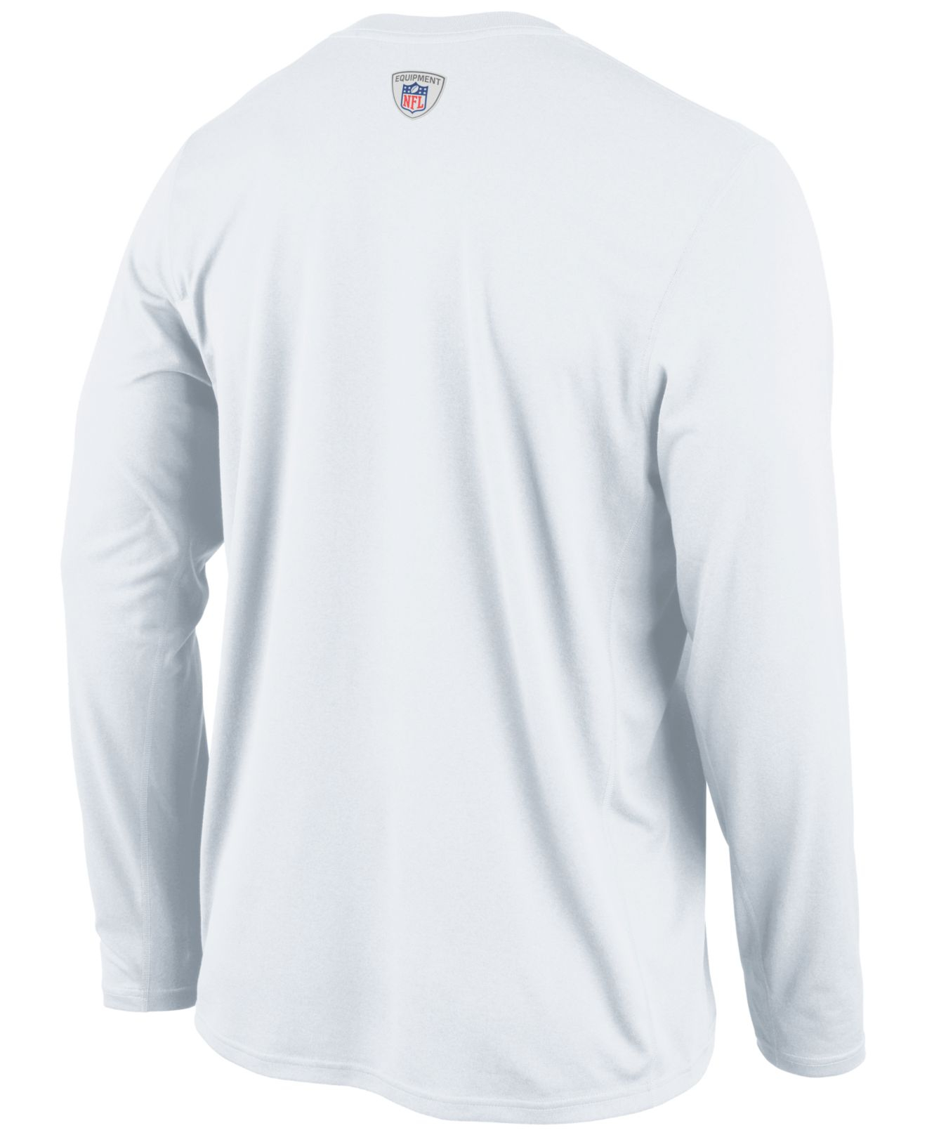 sale retailer 5ddfd 5727c White Men'S Long-Sleeve Chicago Bears Legend Practice T-Shirt