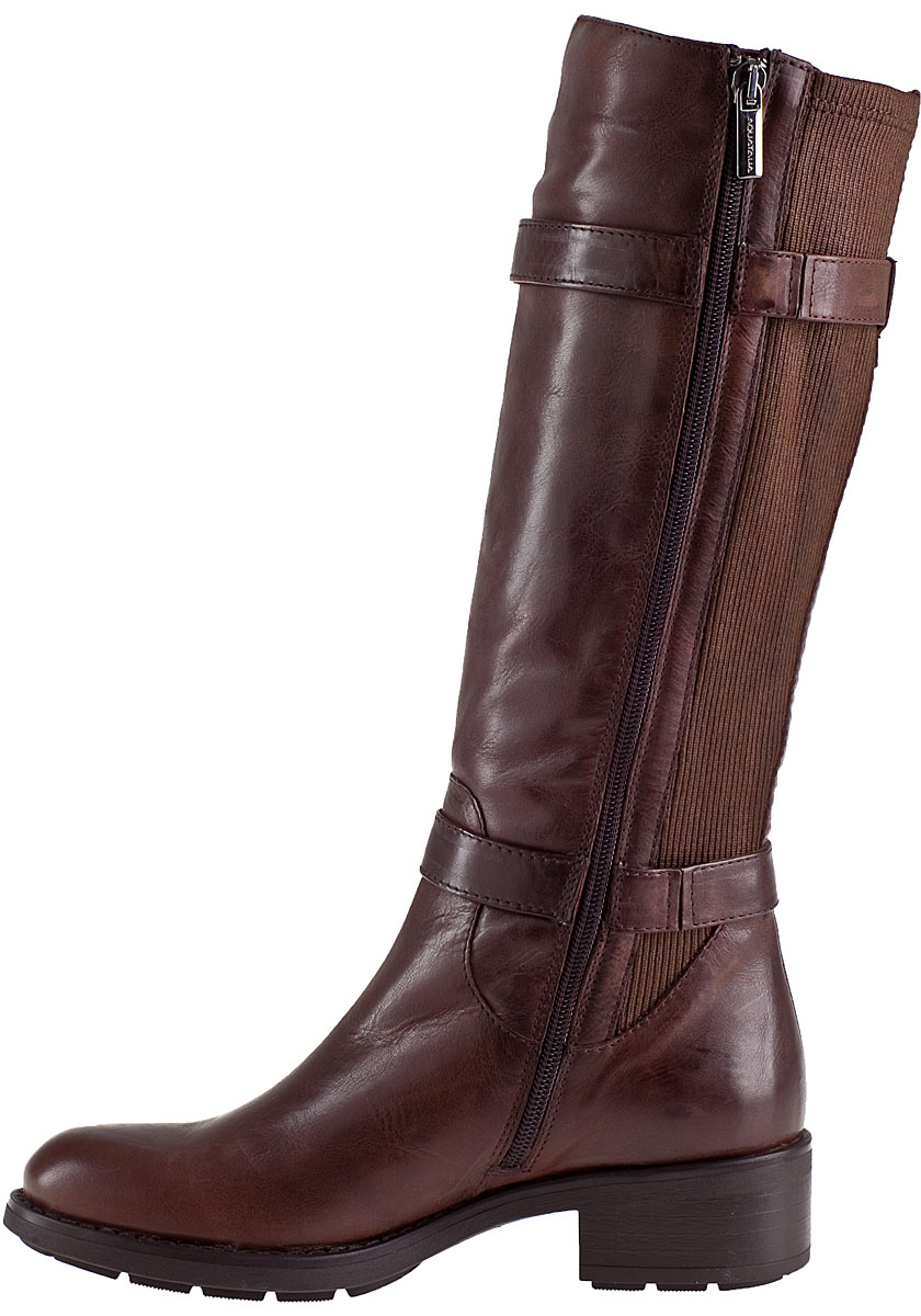 aquatalia by marvin k starry boot brown leather in