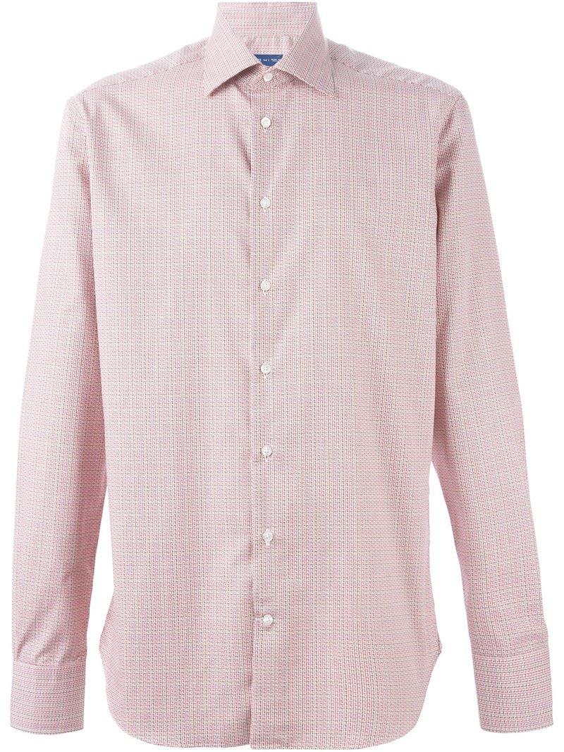 Etro fine patterned shirt for men lyst for Etro men s shirts