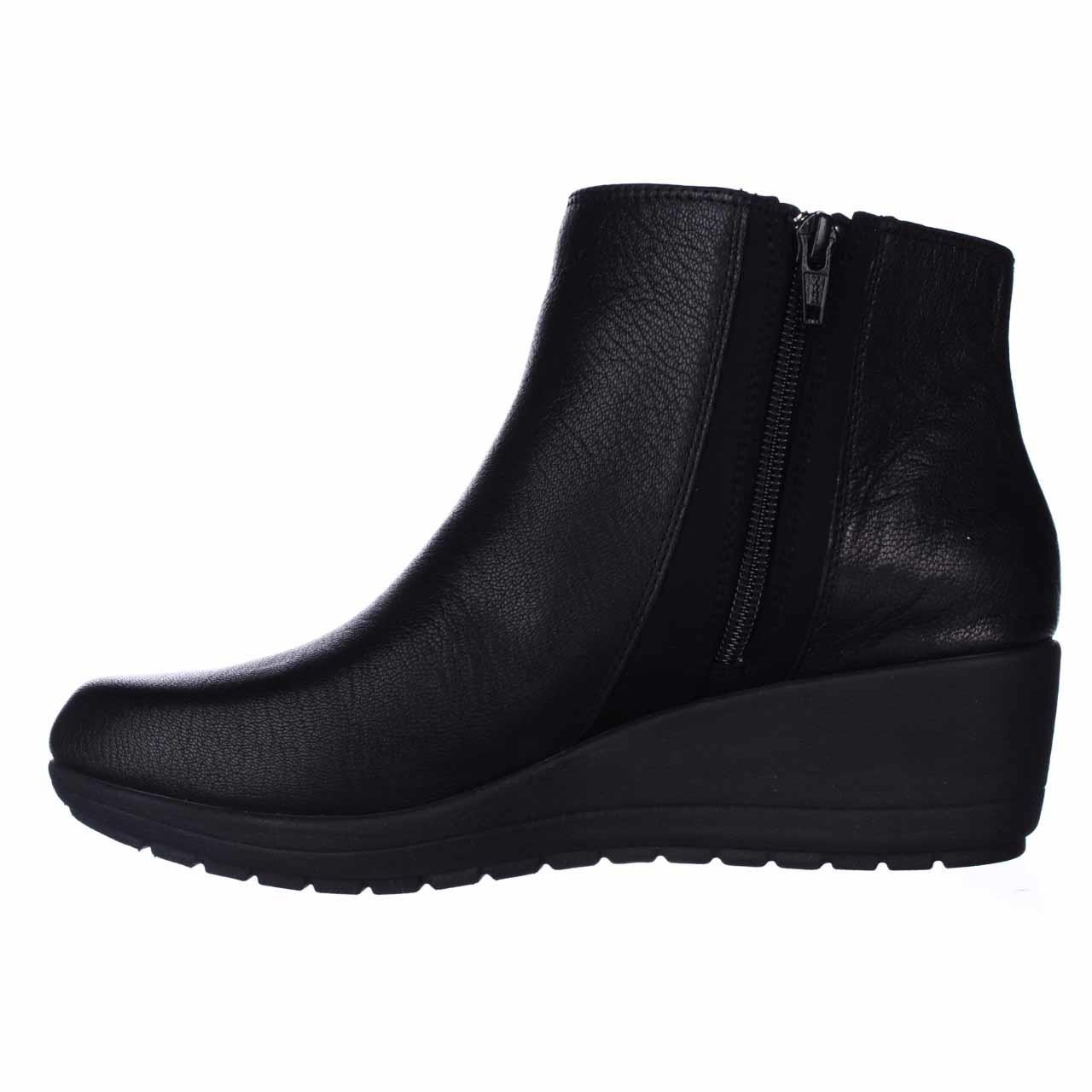 Easy Spirit Cheltzie Wedge Ankle Boots In Black Lyst