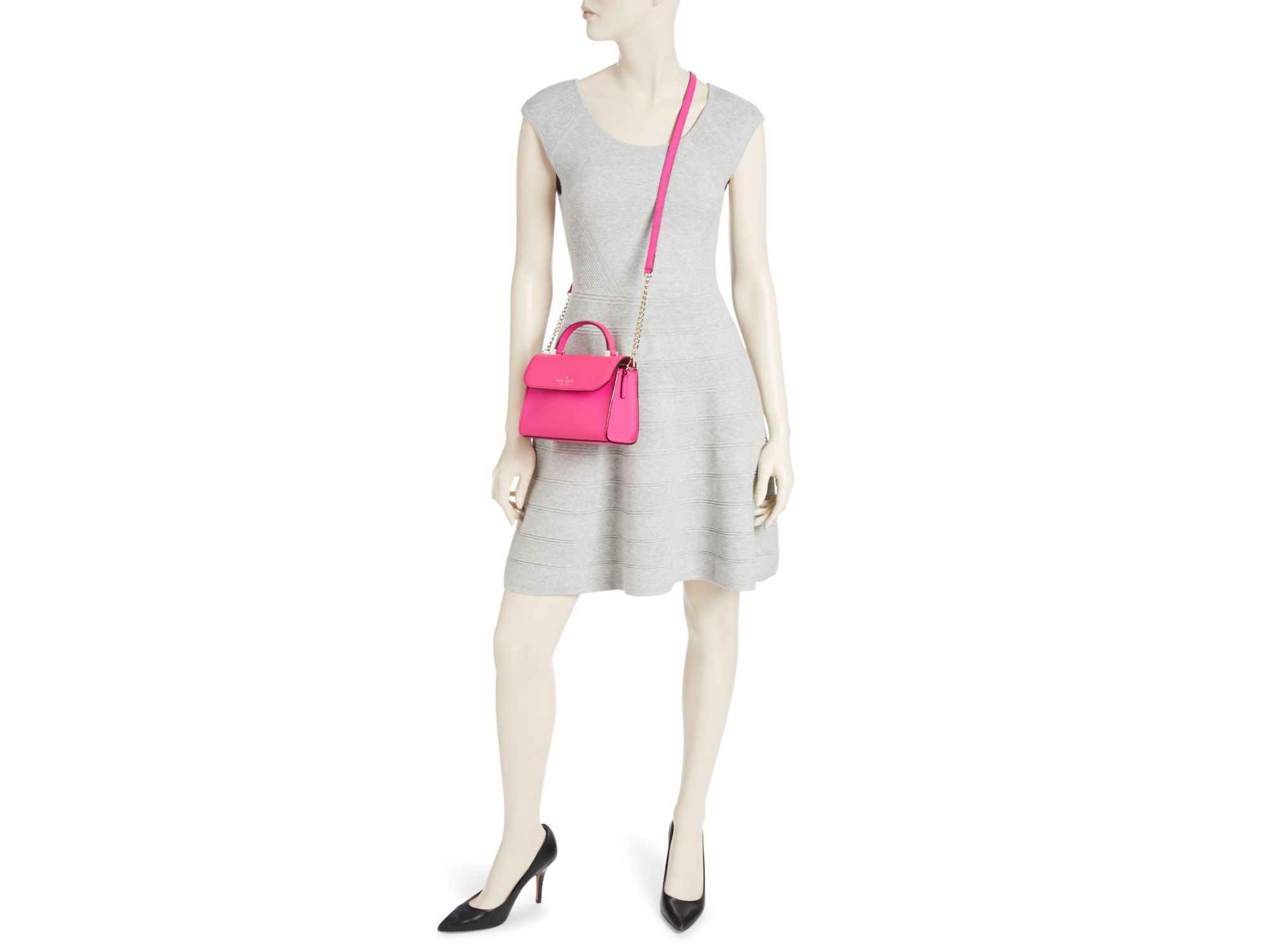 77cbc137e9f0 Lyst - Kate Spade New York Cedar Street Mini Nora Crossbody in Pink