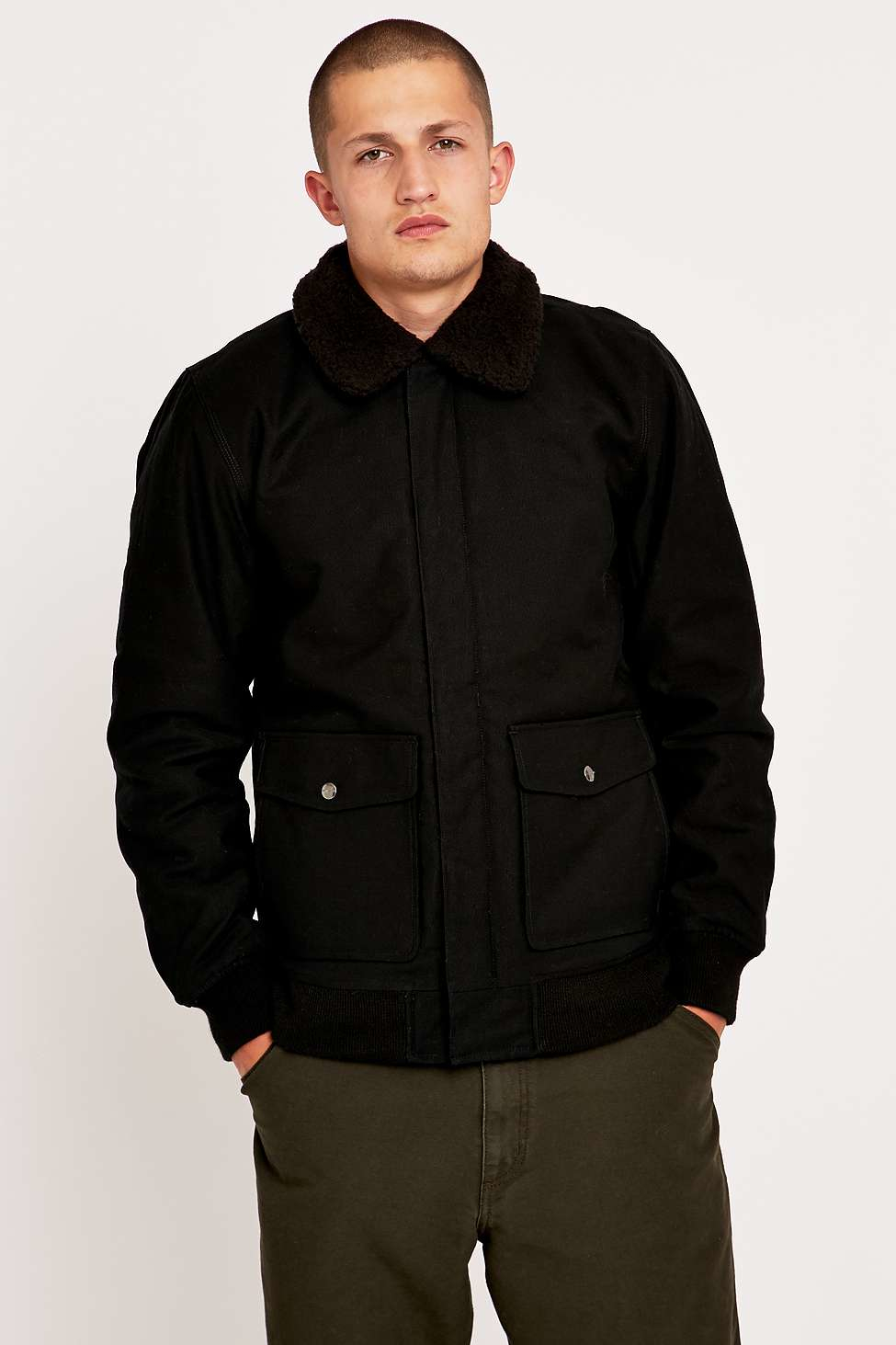 Carhartt Monroe Black Jacket for Men