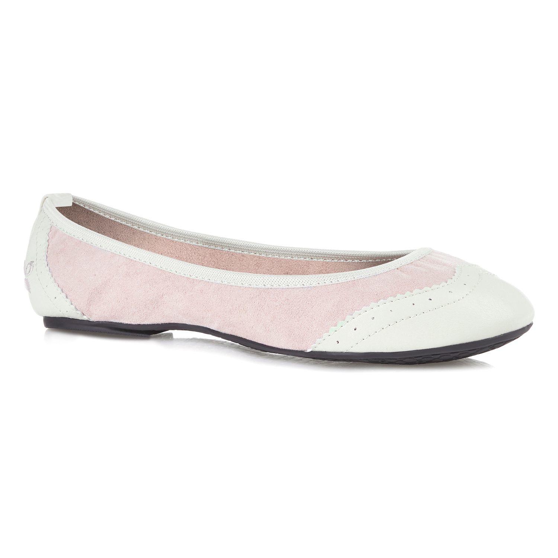 butterfly twists ballerina shoe in pink lyst