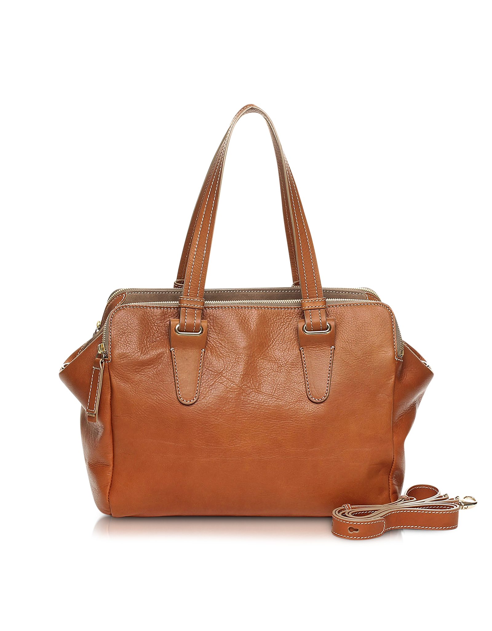 Lyst Francesco Biasia Queensbury Large Tote Bag In Brown fdf91d50716a6