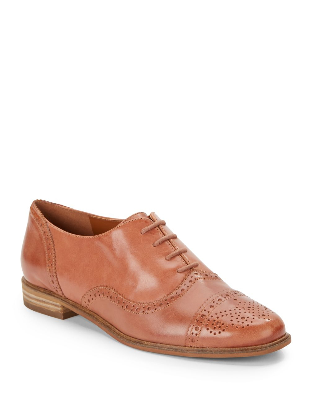Enzo Angiolini Cristin Leather Oxford Shoes in Brown for Men - Lyst 3d49734f1