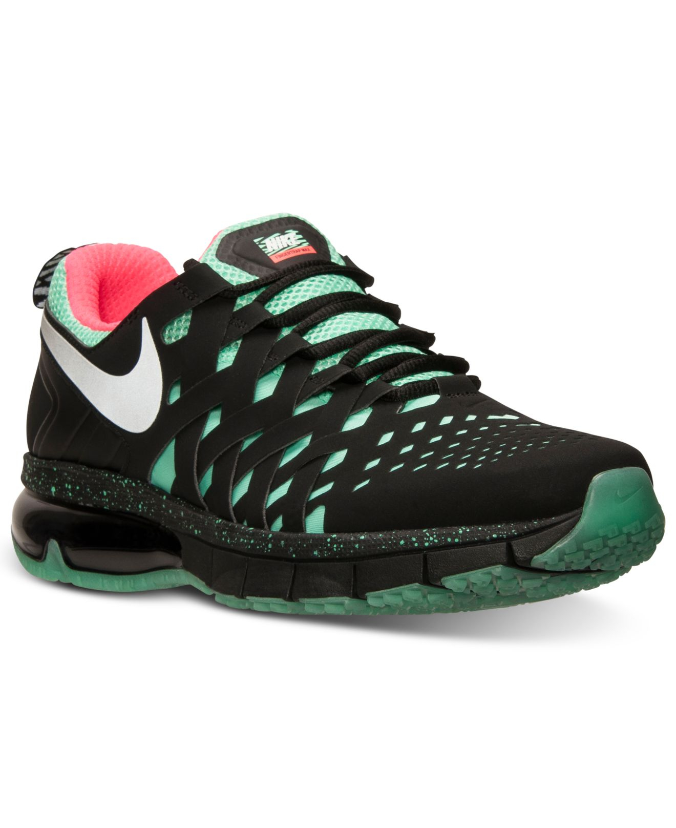 nike men 39 s fingertrap air max nrg training sneakers from. Black Bedroom Furniture Sets. Home Design Ideas