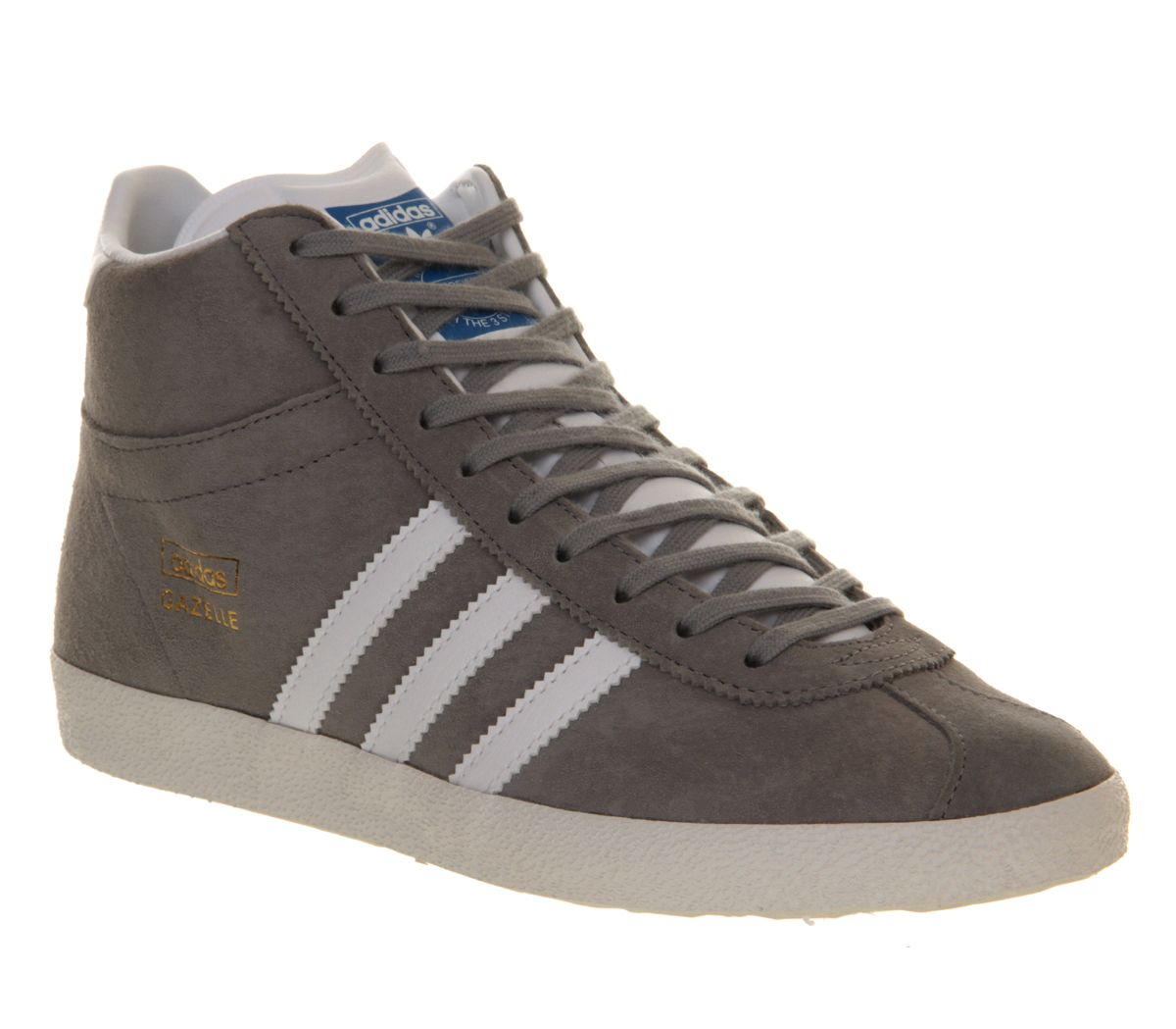 adidas gazelle og mid trainers in gray lyst. Black Bedroom Furniture Sets. Home Design Ideas