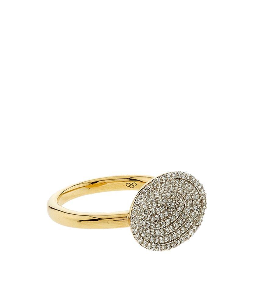 Concave Diamond Rings