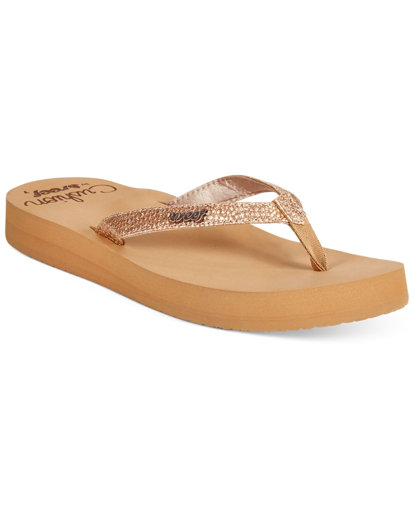 Lyst Reef In Flip Star Sassy Cushion Flops Pink rrxUnTq